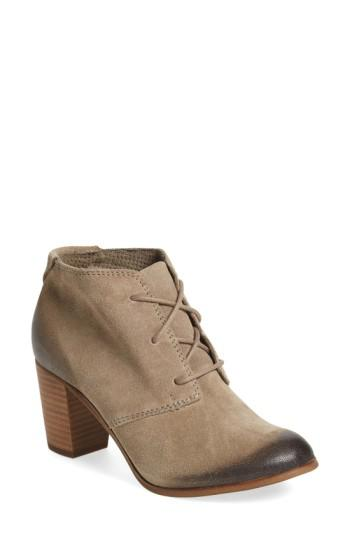 2eee32bd781 Lyst - TOMS  lunata  Lace-up Bootie in Natural