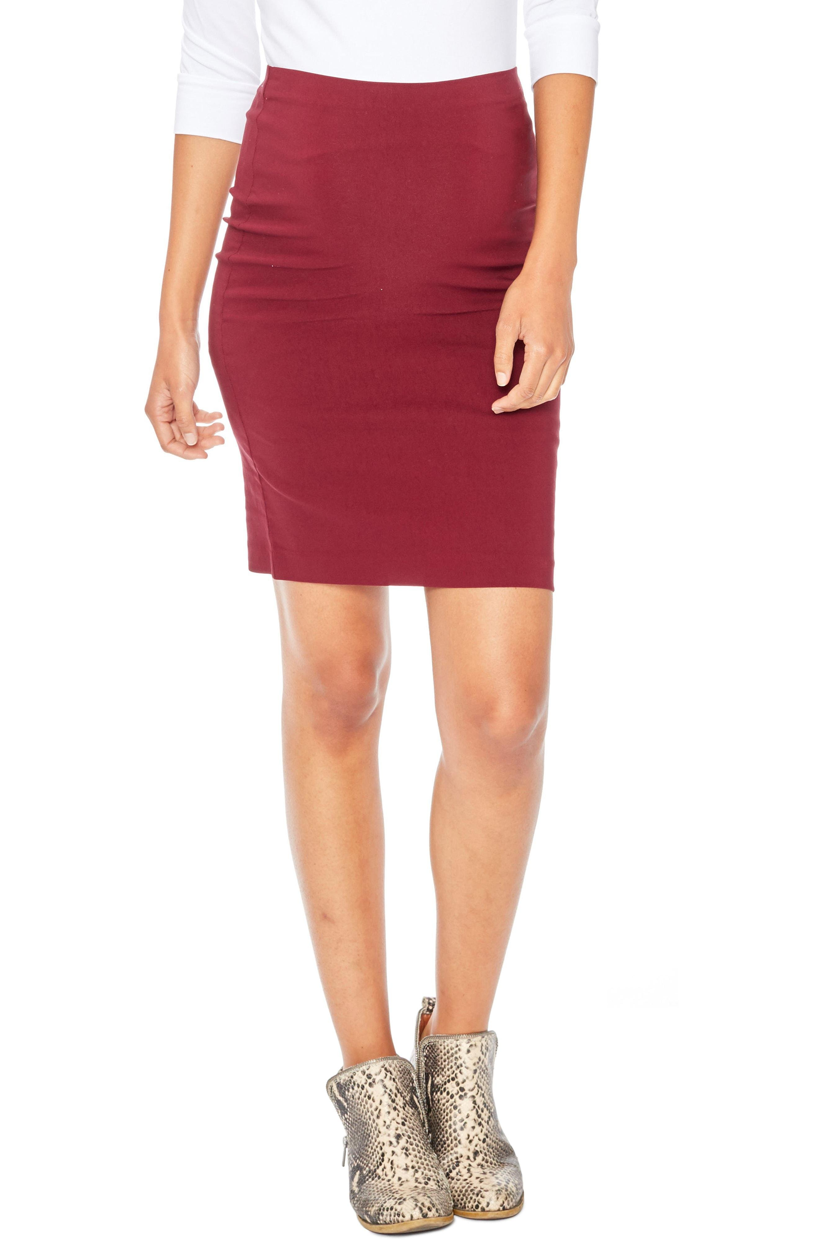 4dd4cfd91e7dd Lyst - Rosie Pope 'pret' Maternity Skirt in Red