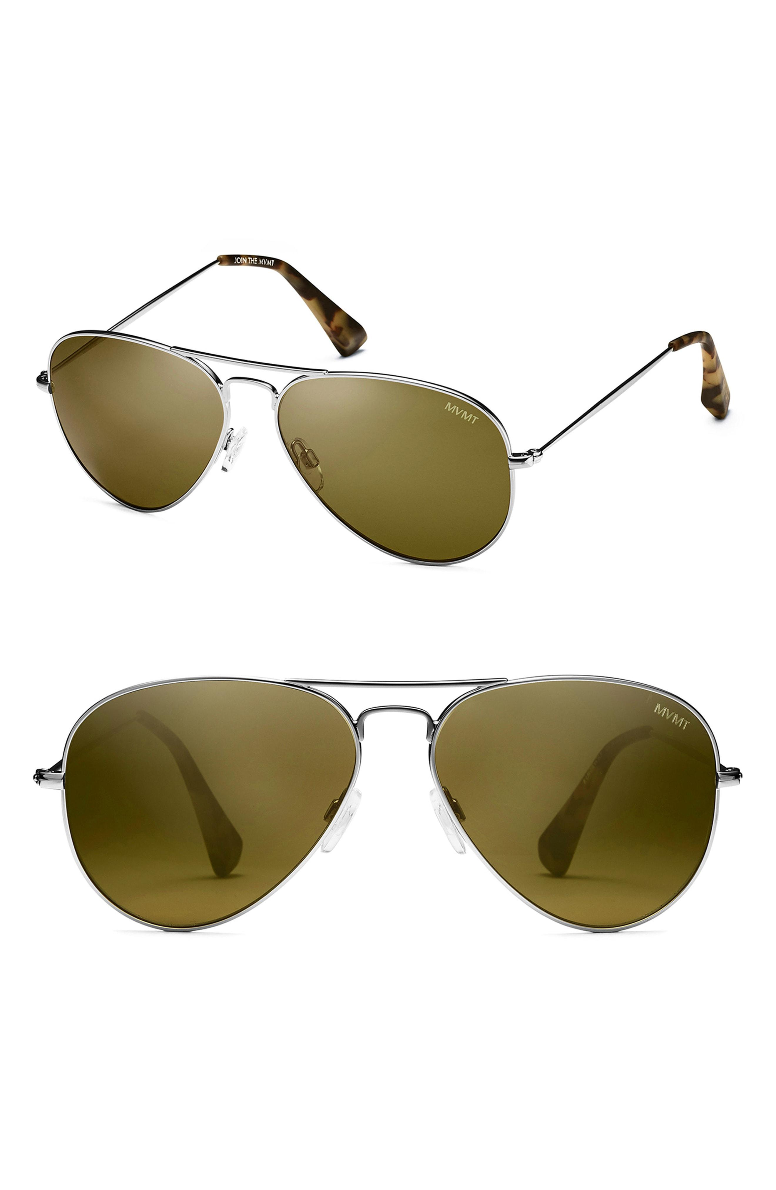 926745f821 MVMT - Green Runway 60mm Polarized Aviator Sunglasses - for Men - Lyst.  View fullscreen