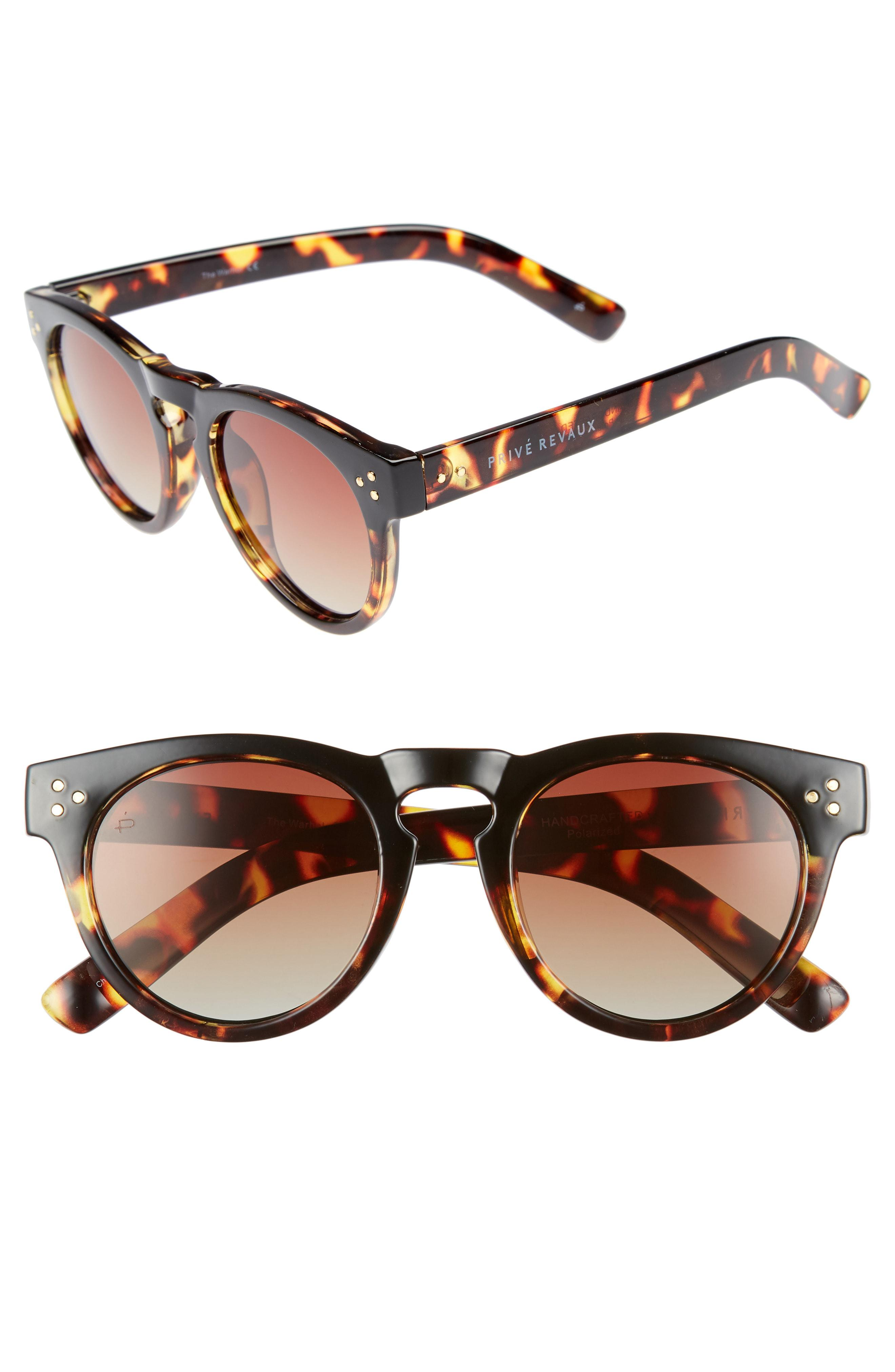 afaff53534 Privé Revaux - Brown The Warhol 45mm Polarized Sunglasses - for Men - Lyst.  View fullscreen