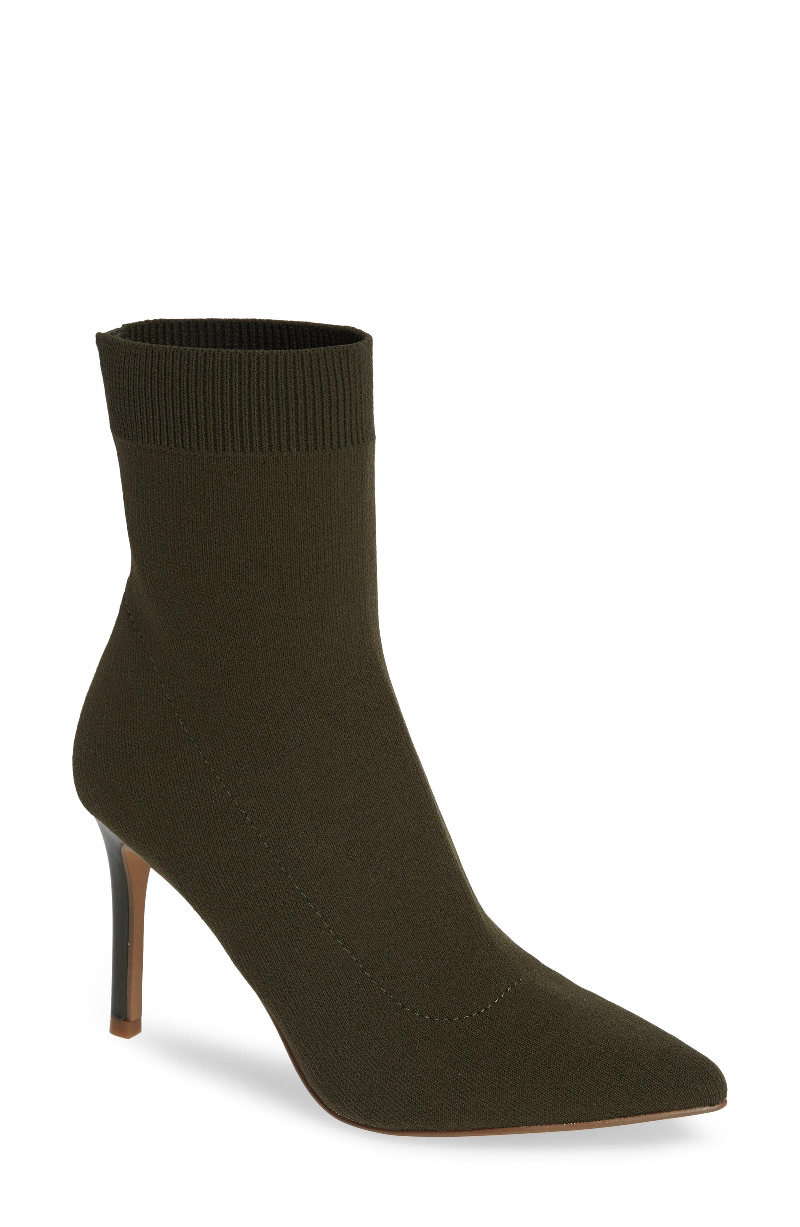 71d6d9a243f Lyst - Steve Madden Claire Bootie in Green