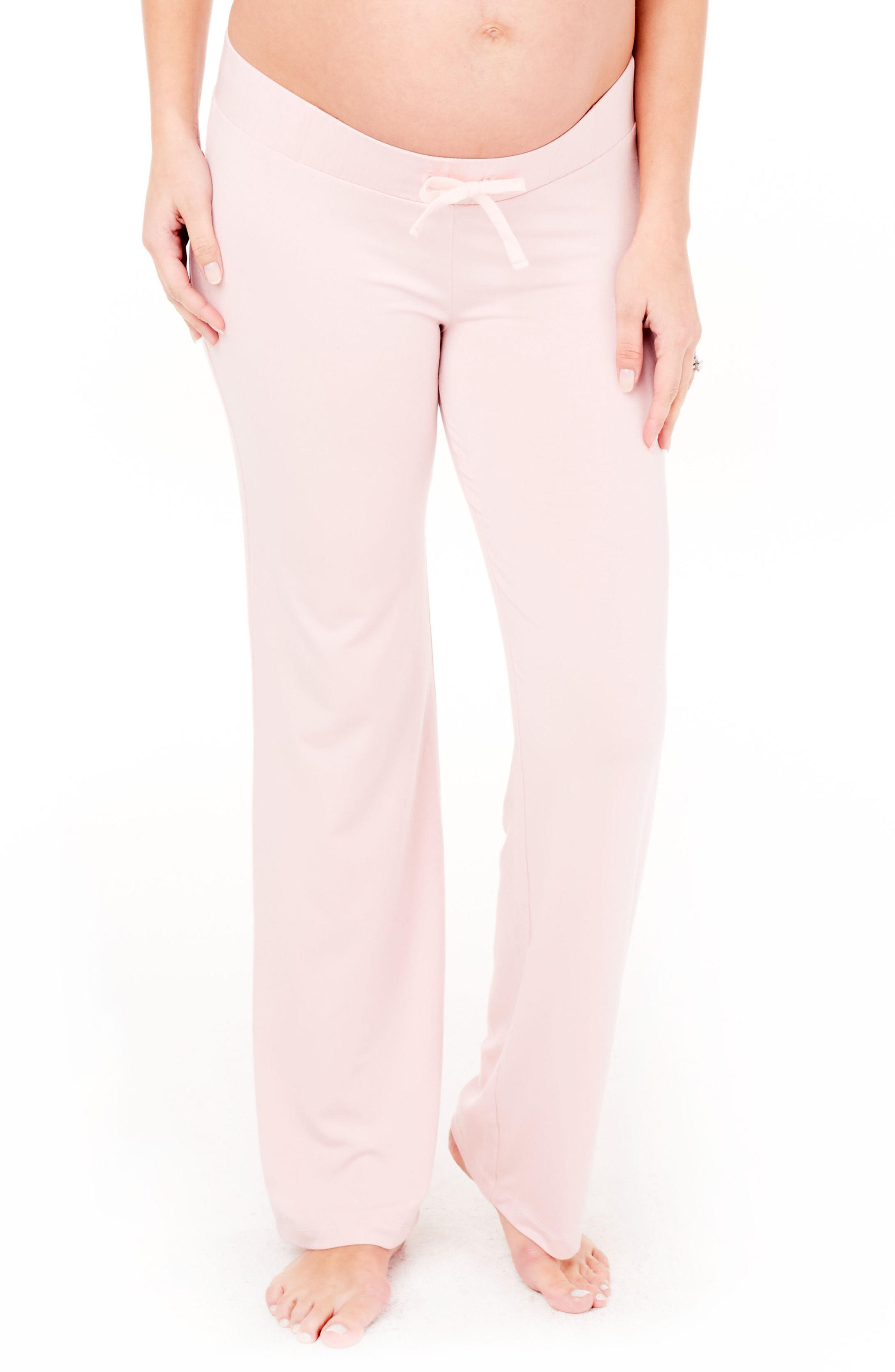 924bdb9a41e60 Lyst - Ingrid & Isabel Ingrid & Isabel Maternity Lounge Pants in Pink