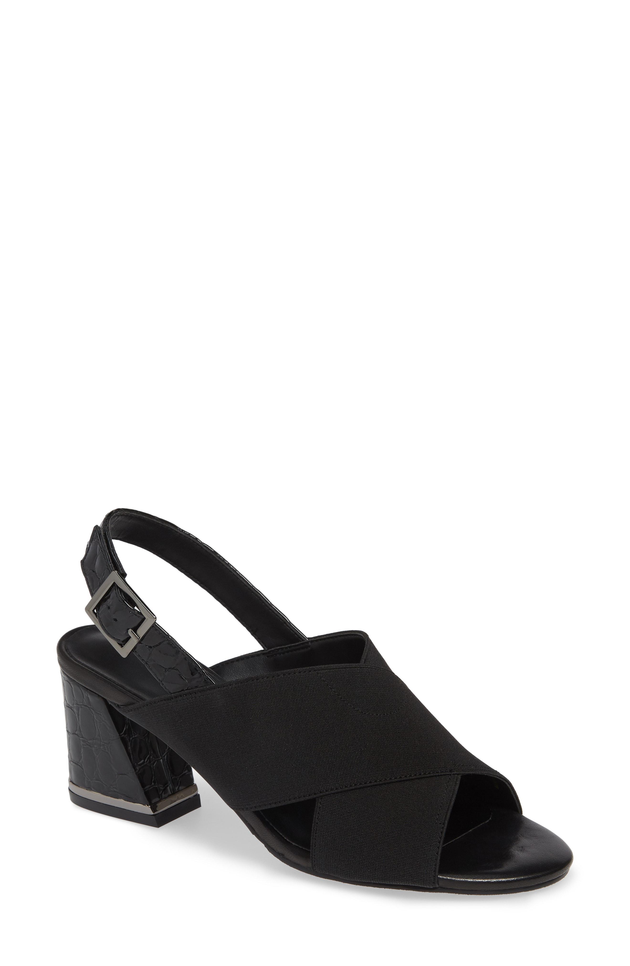 d9e733b97 Lyst - Vaneli Bamba Slingback Sandal in Black