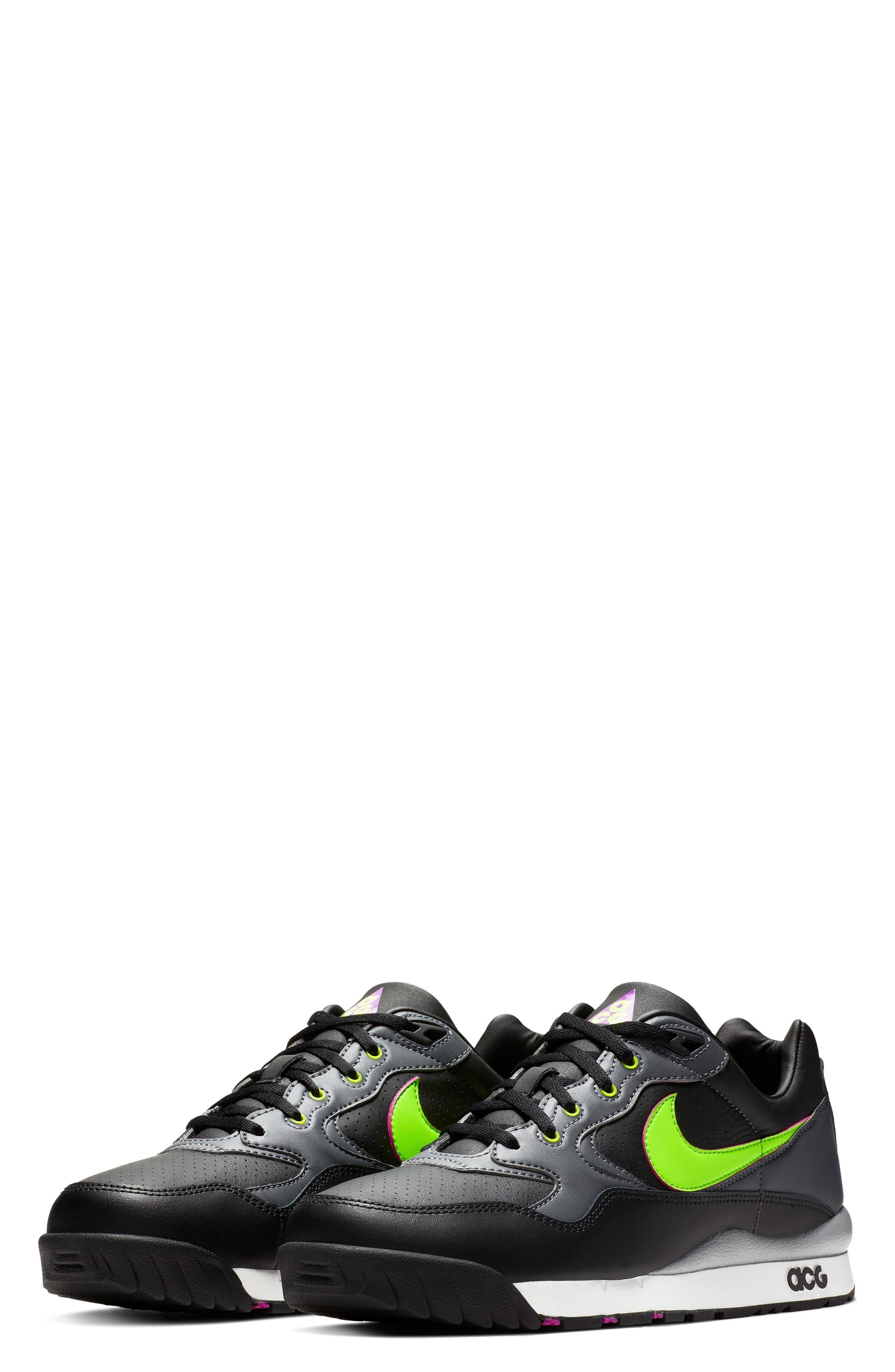 new style f2b1e f8918 Nike. Womens Black Air Wildwood Acg Sneaker