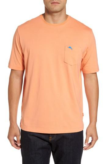 Lyst Tommy Bahama Bali Skyline Pocket T Shirt In Orange