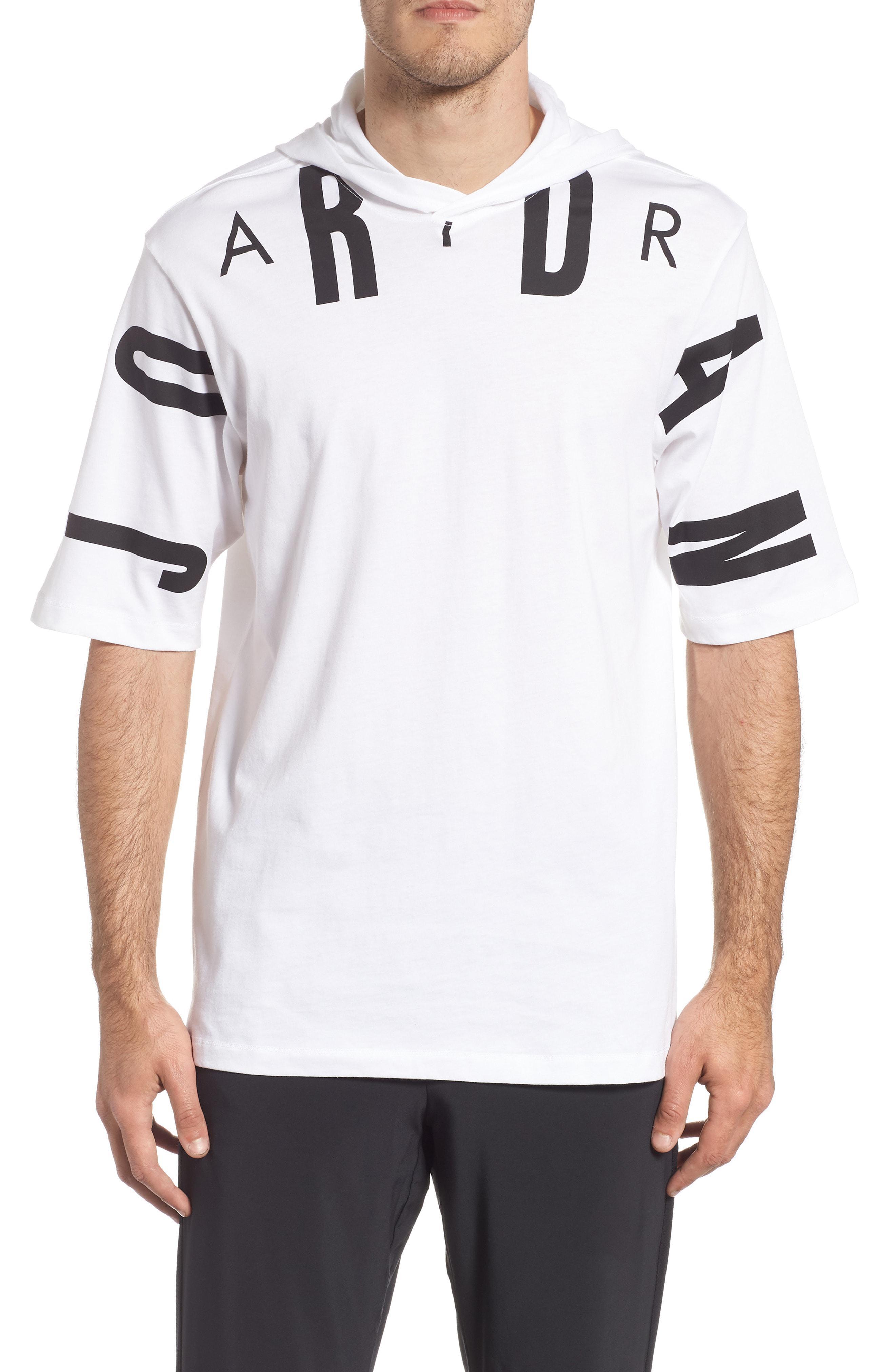 ded689606bf Lyst - Nike Jordan 23 Hooded T-shirt in White for Men