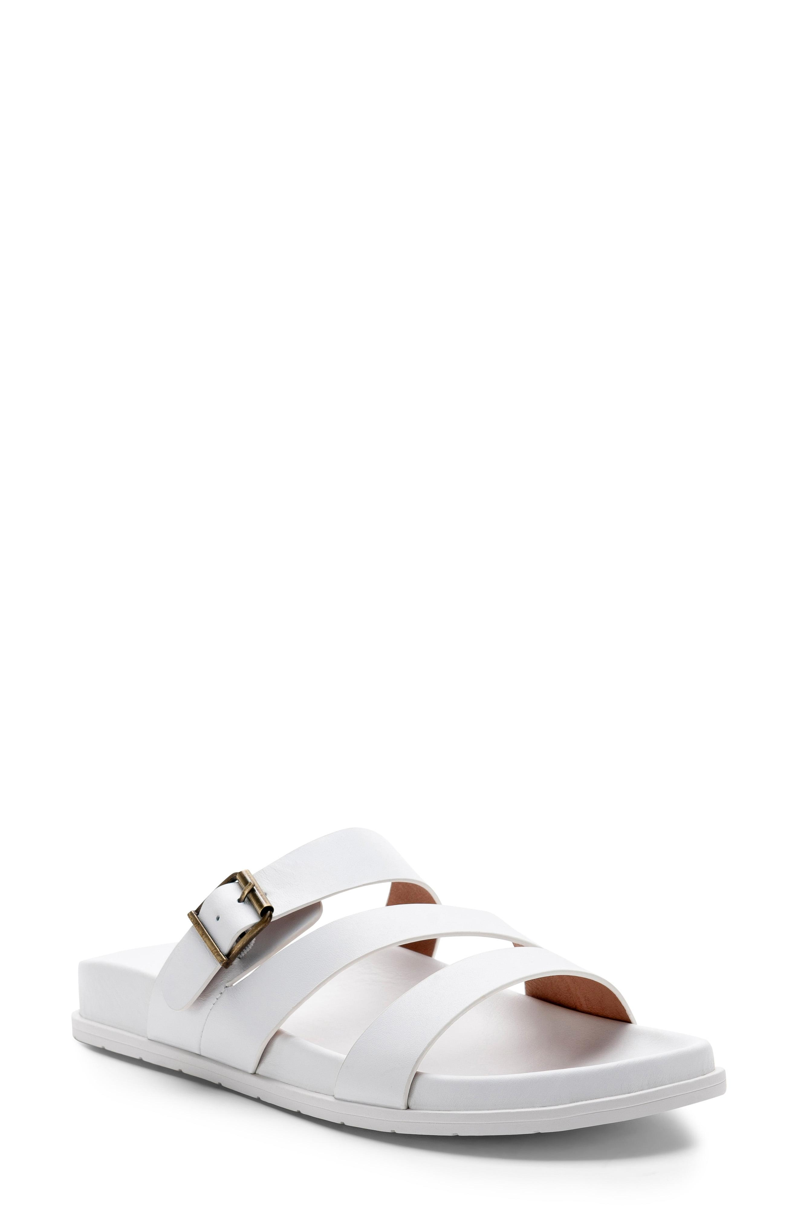 f42309b140b5 Lyst - Blondo Selma Waterproof Slide Sandal in White