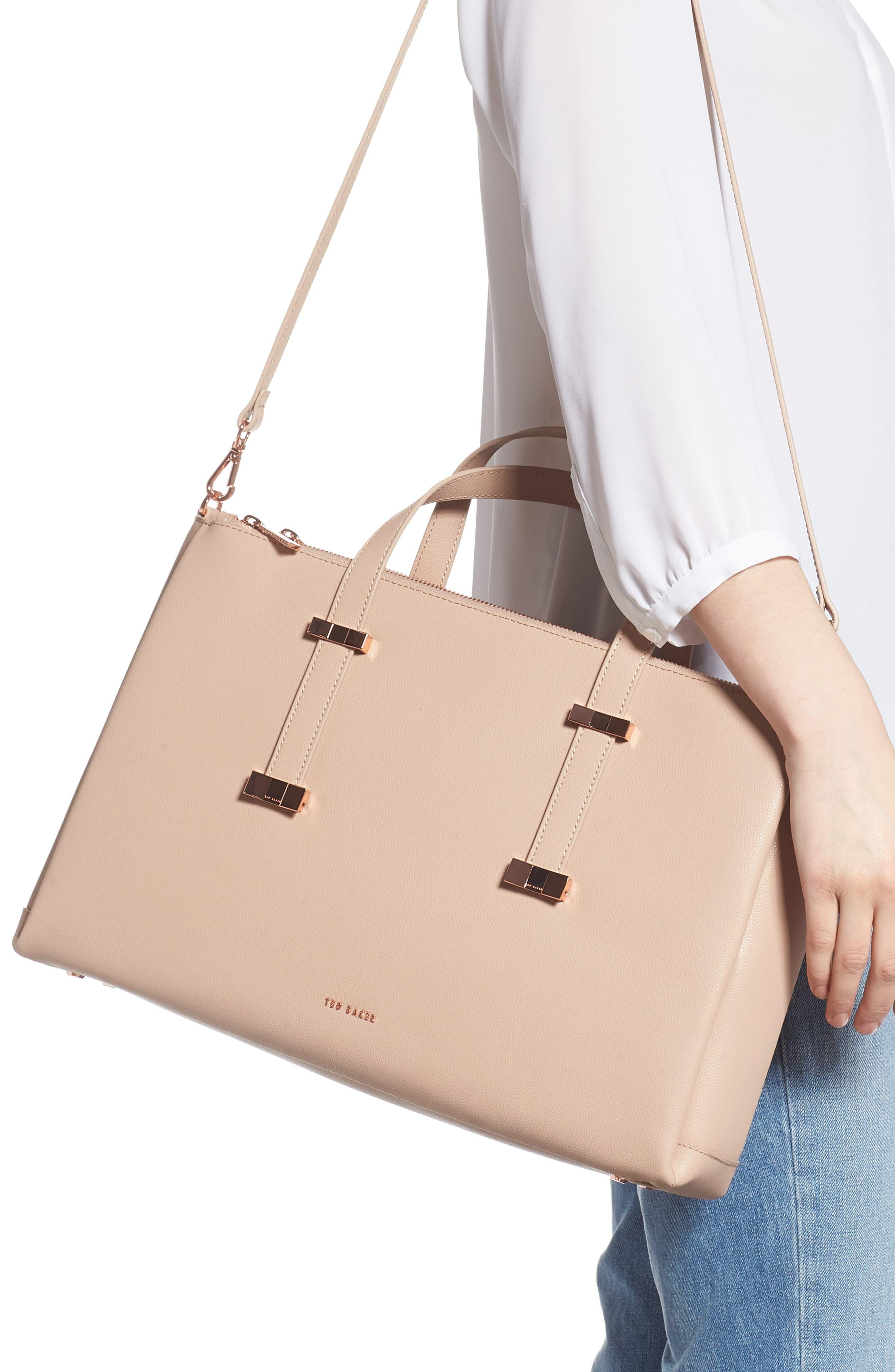 6c44a441a9 Ted Baker - Multicolor Juliea Leather Laptop Bag - Lyst. View fullscreen