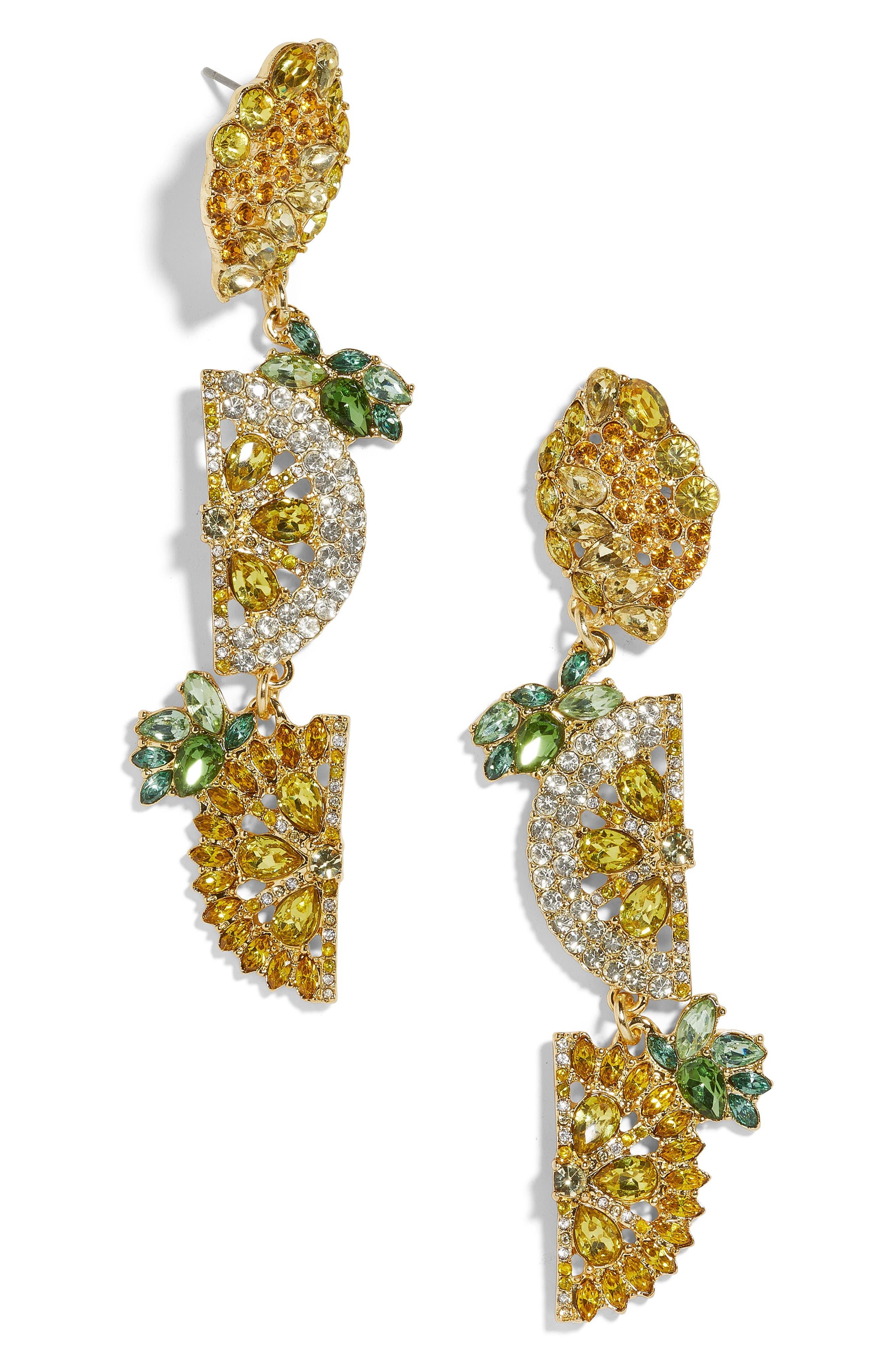 9f0b958d80150d BaubleBar Lemon Drop Earrings in Yellow - Lyst