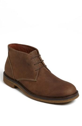 Johnston Amp Murphy Copeland Suede Chukka Boot In Brown