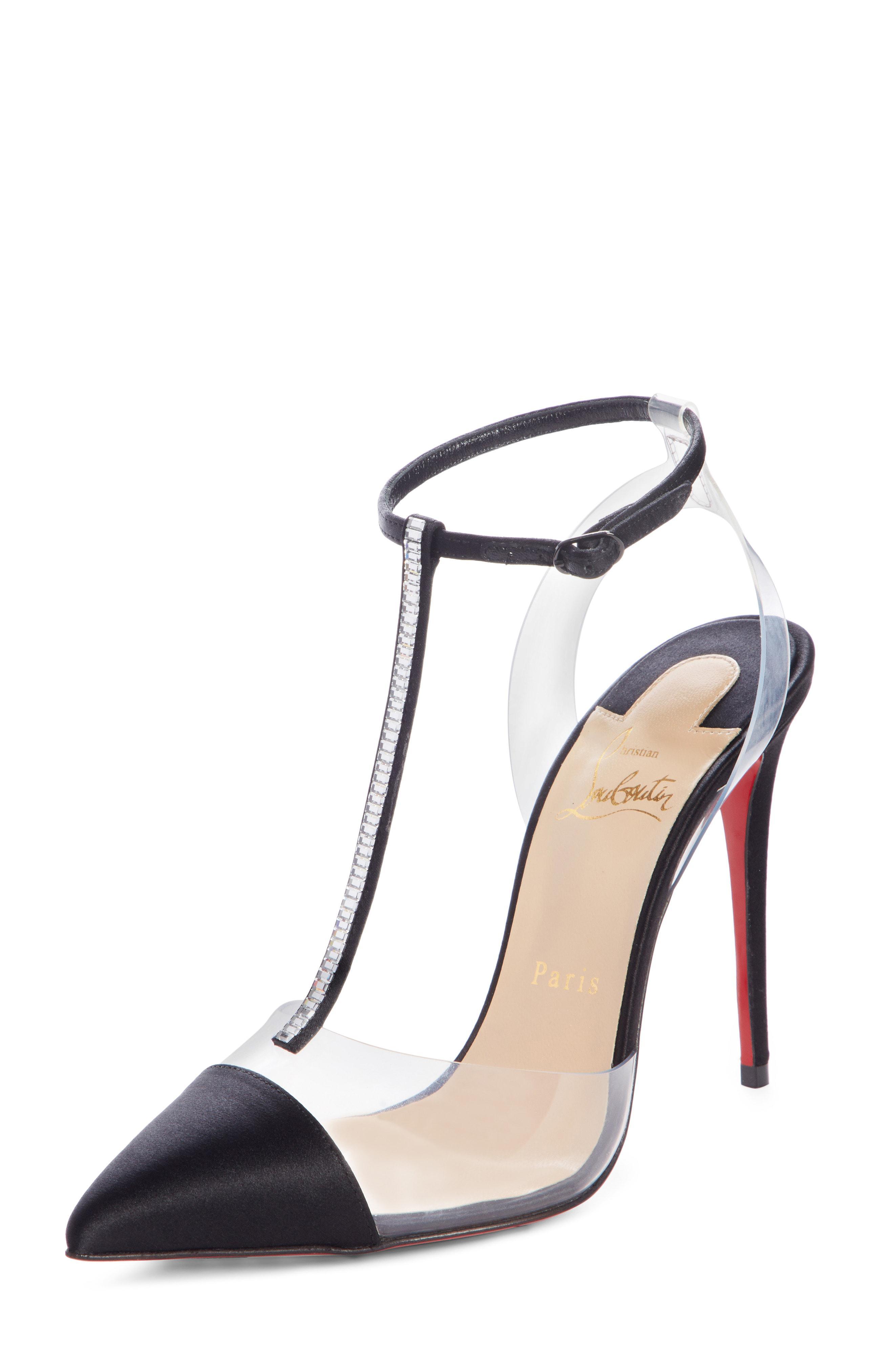a37332103ddd Christian Louboutin. Women s Nosy Jewel Embellished T-strap Pump