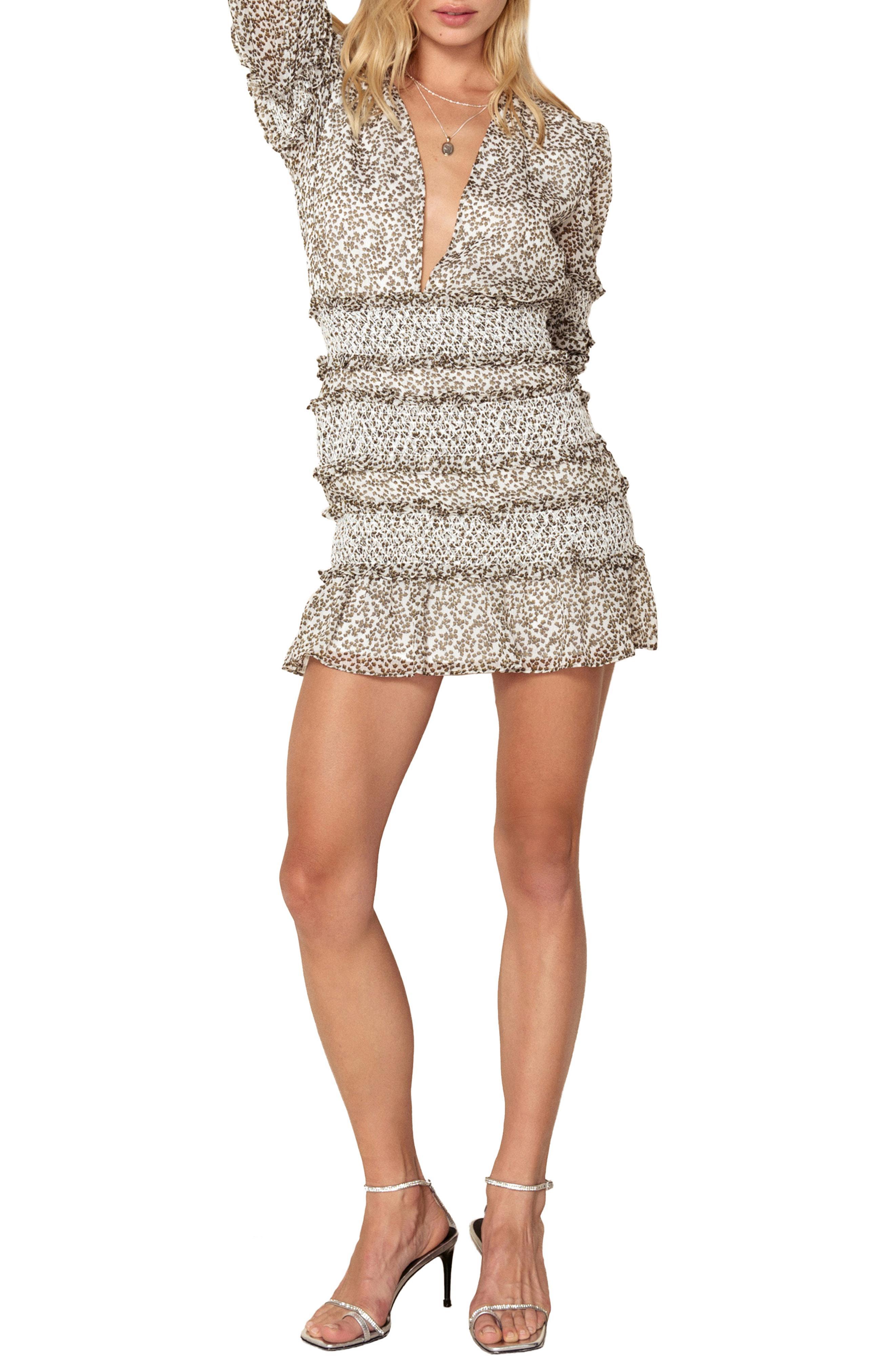 3c54e5e15d00 The East Order Behati Mini Dress - Lyst