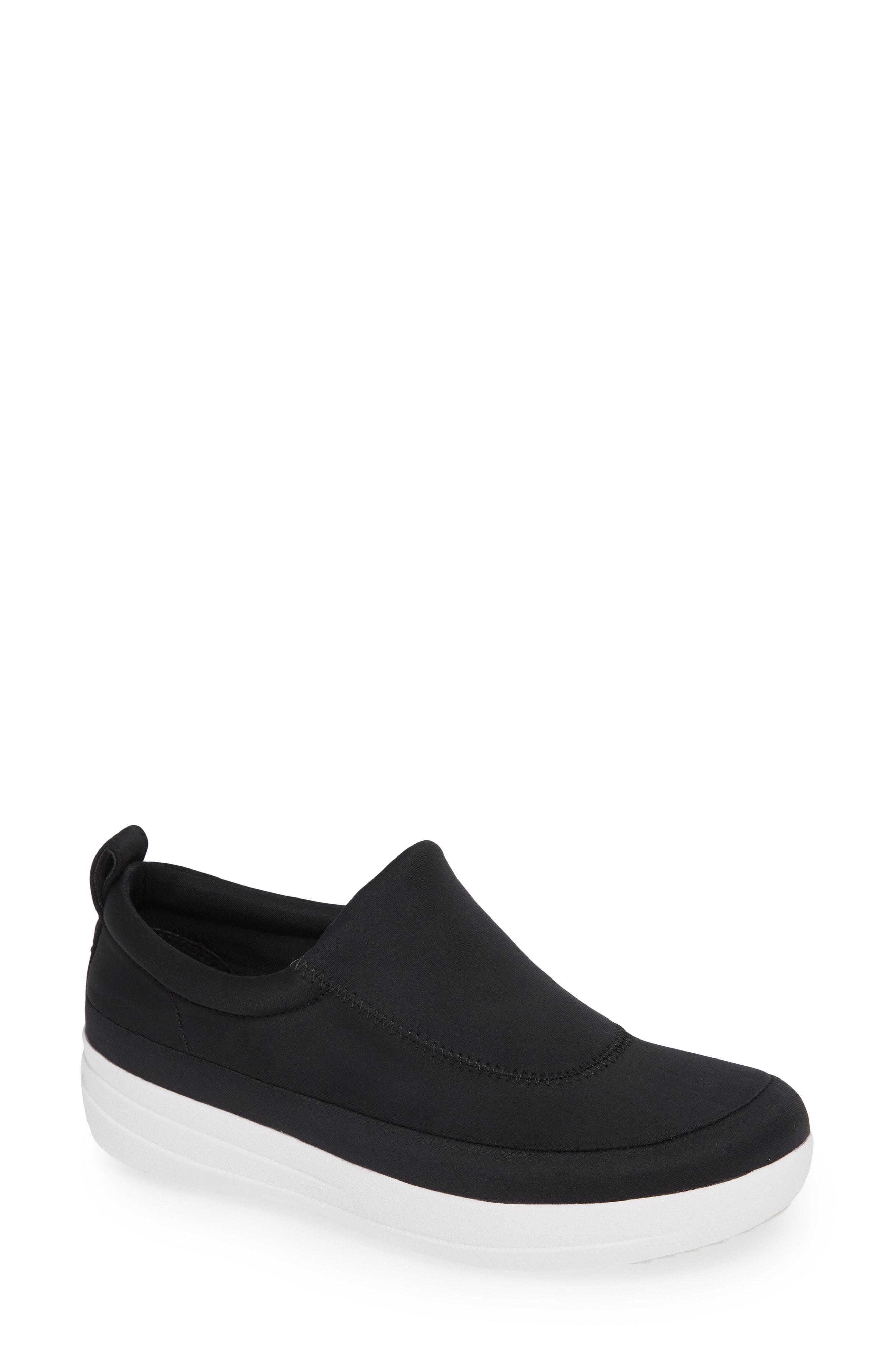 ea3556d32 Lyst - Fitflop Freeflex Slip-on Sneaker in Black