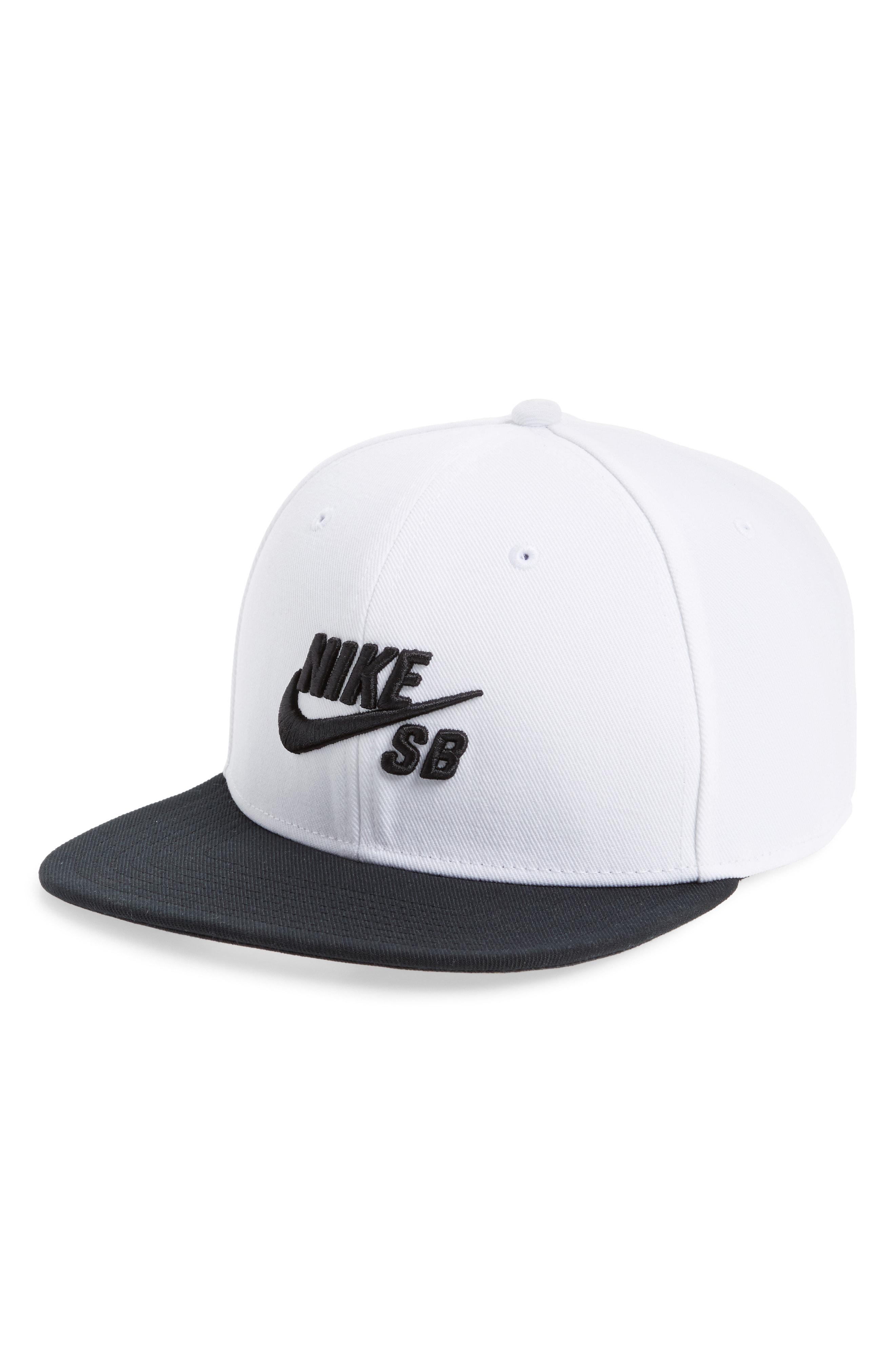 ac1672c02fa8 Lyst - Nike Nike Pro Snapback Baseball Cap in Black for Men