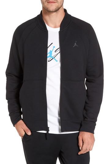 e55e45faef35 Lyst - Nike Sportswear Wings Fleece Bomber Jacket in Black for Men