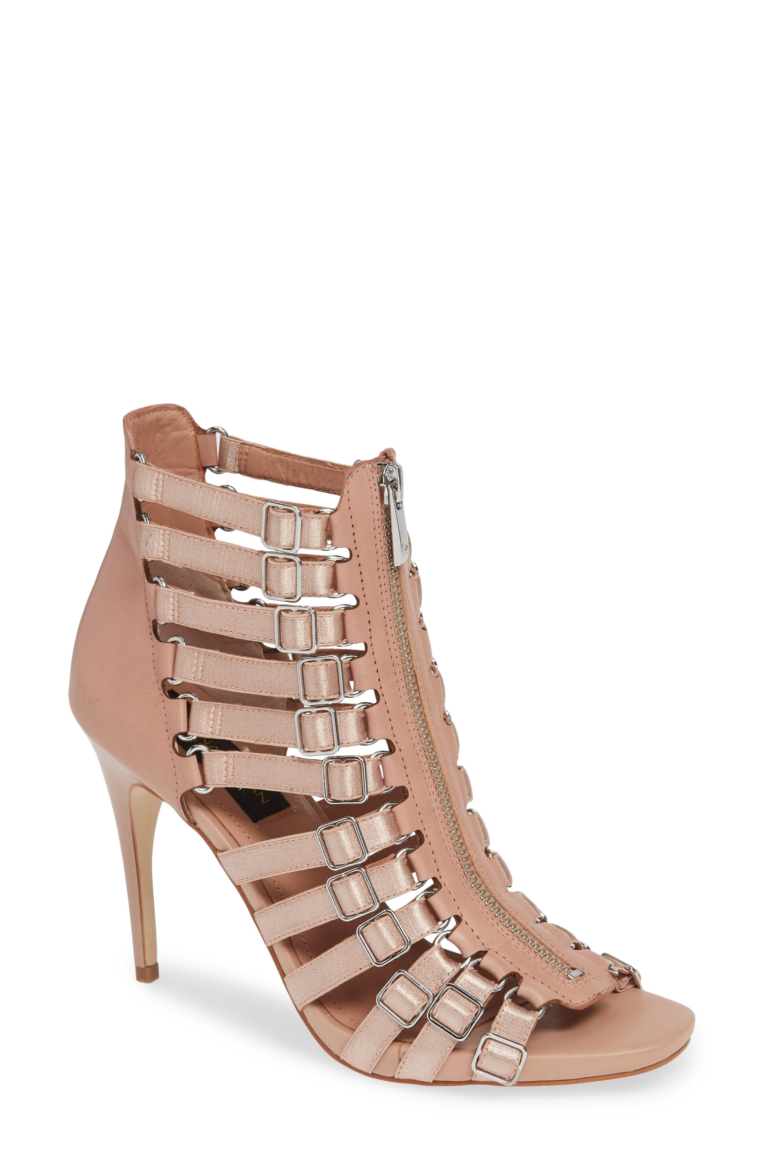f5f5506e43e0 Lyst - Donna Karan Donna Karan Kat High Sandal in Brown