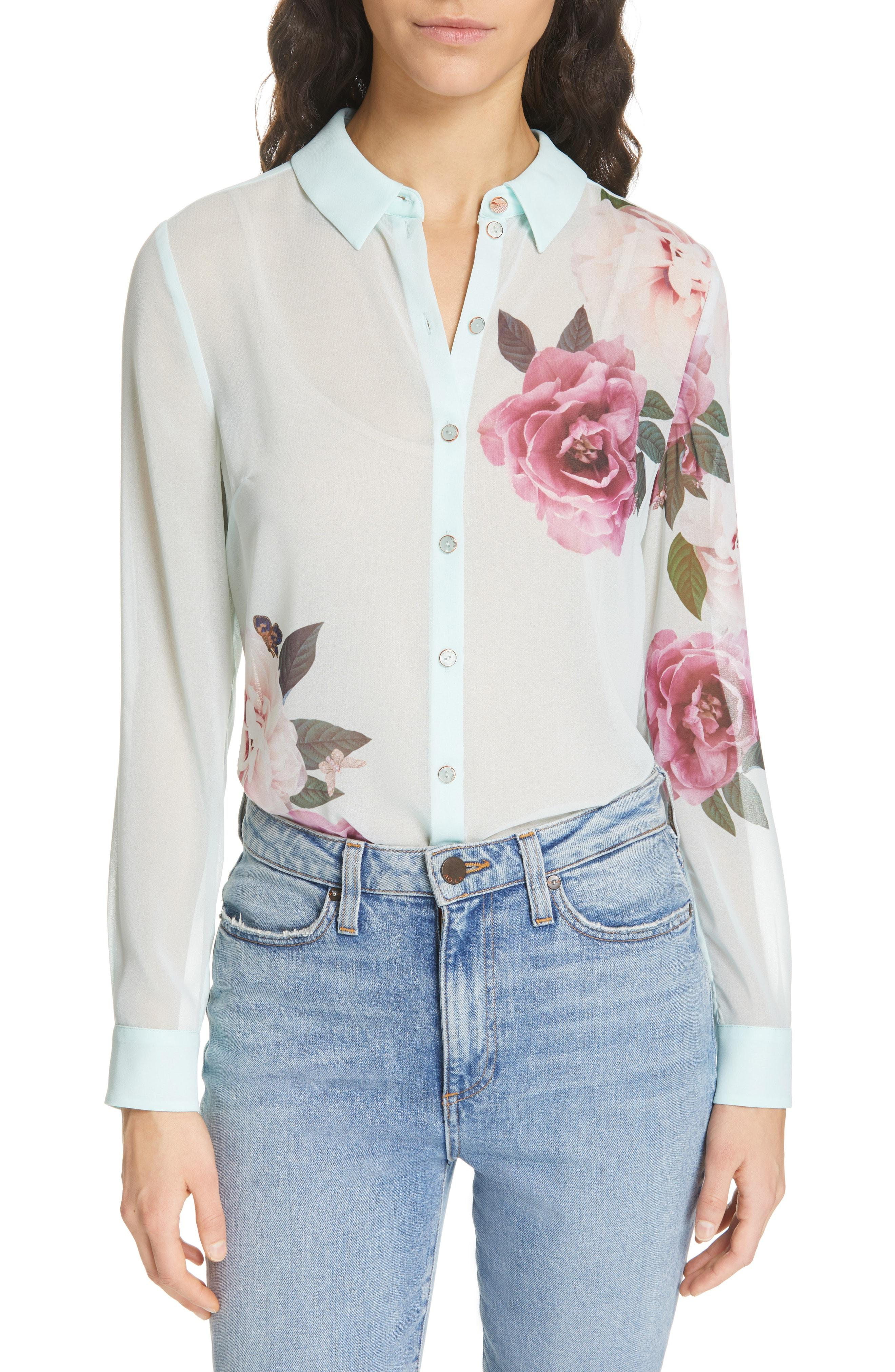 dc3abcffc165e Ted Baker. Women s Zaylaa Magnificent Blouse
