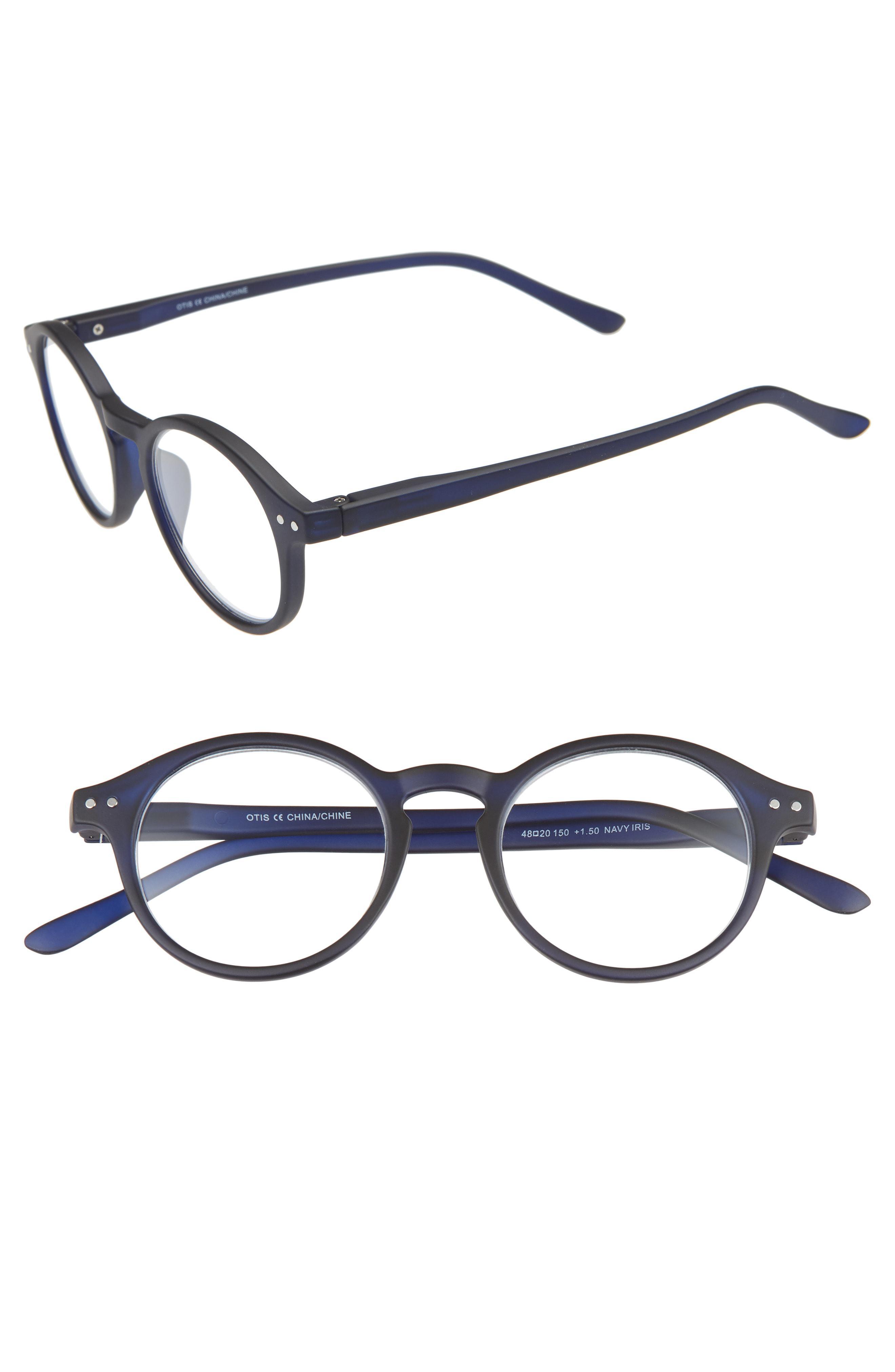 8cfb060ed08 Lyst - Nordstrom Otis 48mm Reading Glasses - in Blue for Men