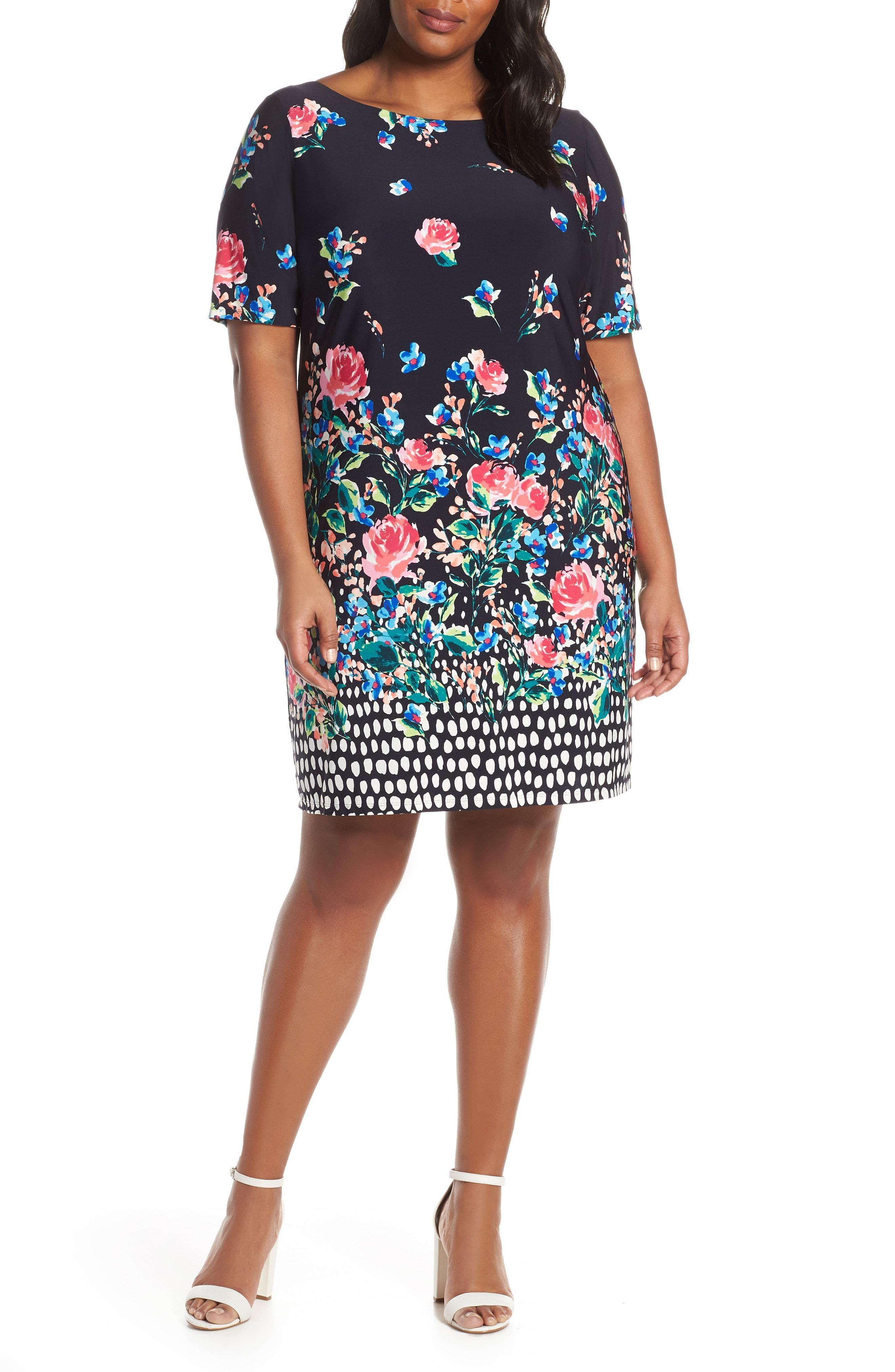 934ed77c027b Eliza J. Women s Jersey Shift Dress