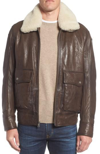 Lyst Andrew Marc Marc New York 3614 Leather Jacket With