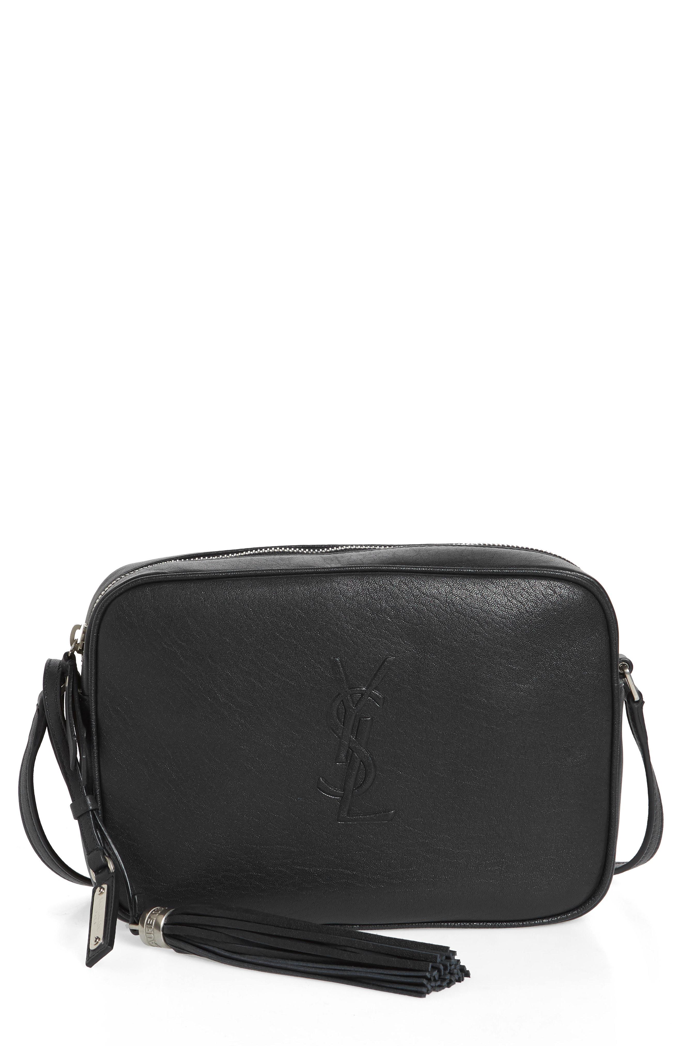 5c666be18bc Saint Laurent. Women s Small Mono Leather Camera Bag -