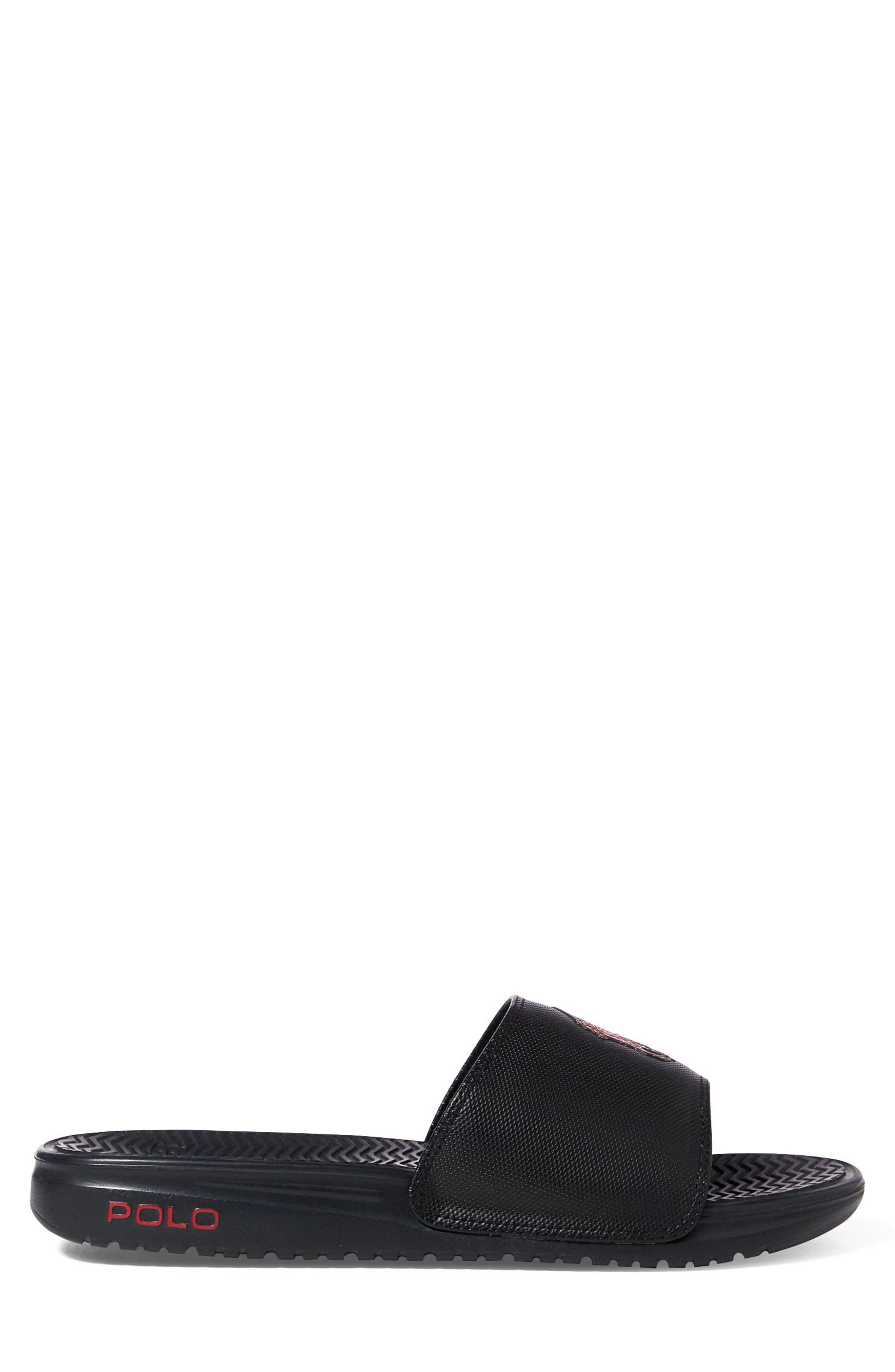 fd061194e1a2 Polo Ralph Lauren - Blue Rodwell Slide Sandal for Men - Lyst. View  fullscreen