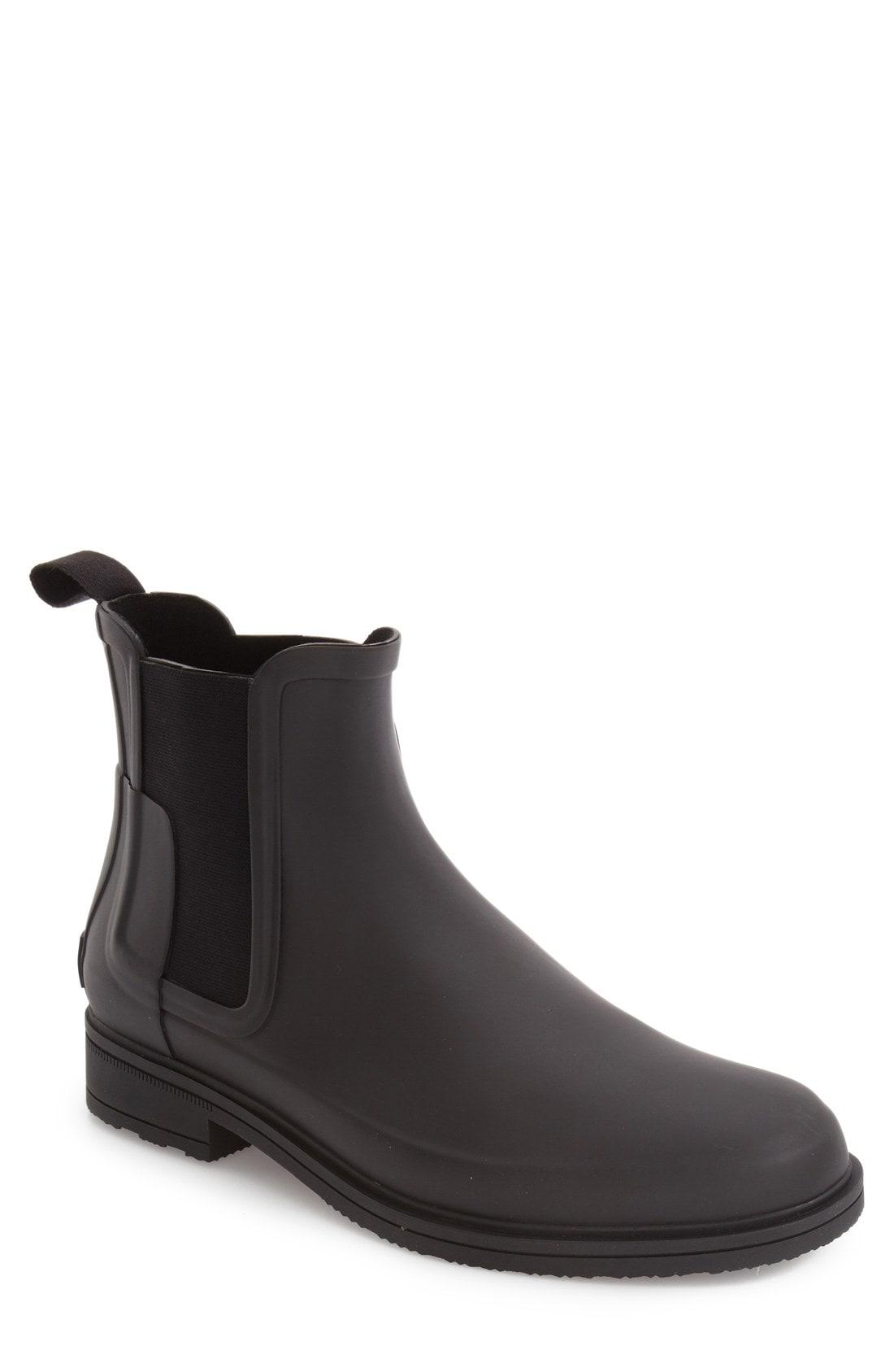 25785304c32d Lyst - Hunter Original Refined Waterproof Chelsea Boot for Men