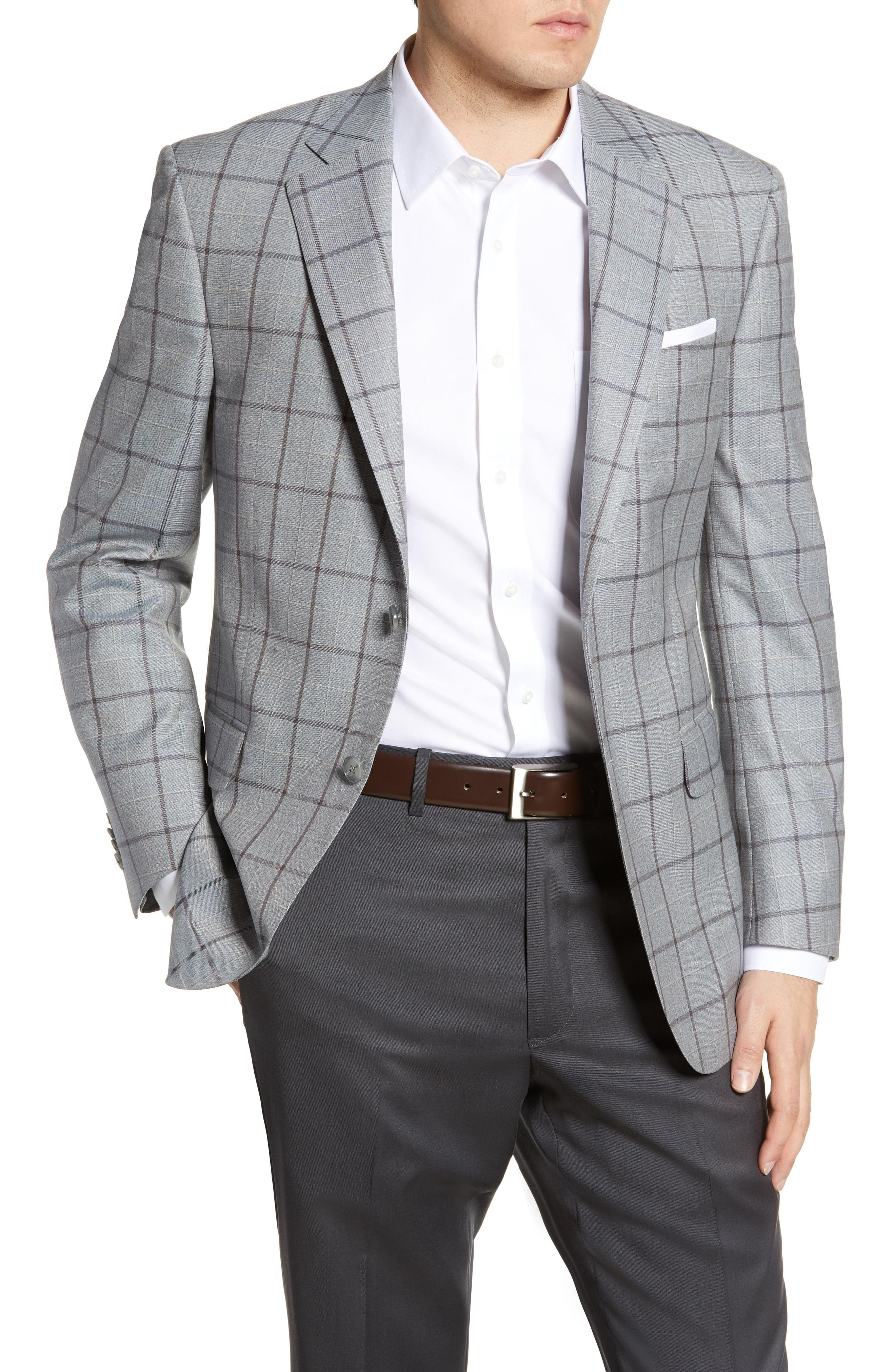 37870e8763410c Lyst - Peter Millar Flynn Windowpane Wool Sport Coat in Gray for Men