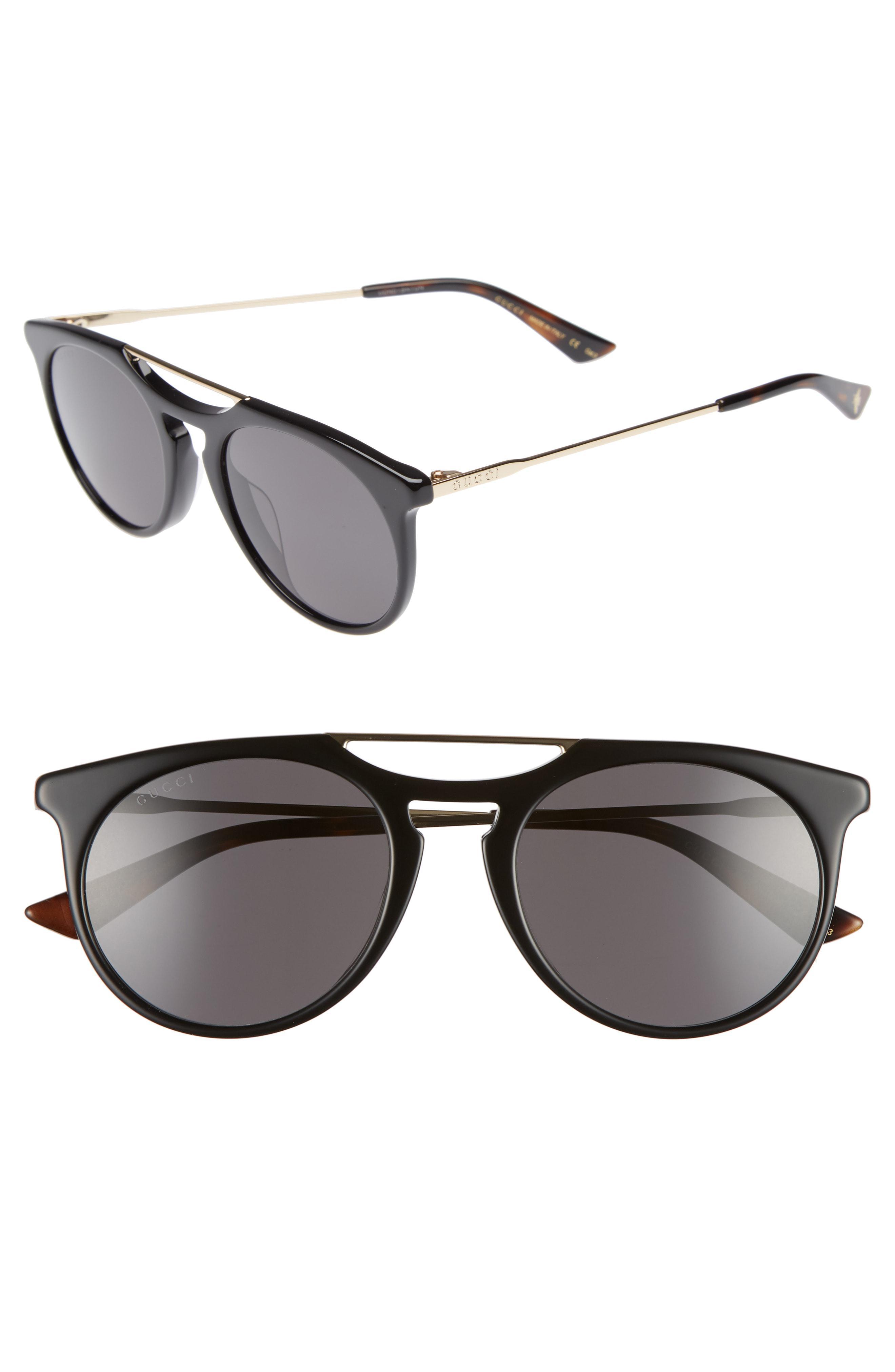 00075855d5c Gucci - Gray Light Combi 53mm Sunglasses - for Men - Lyst. View fullscreen