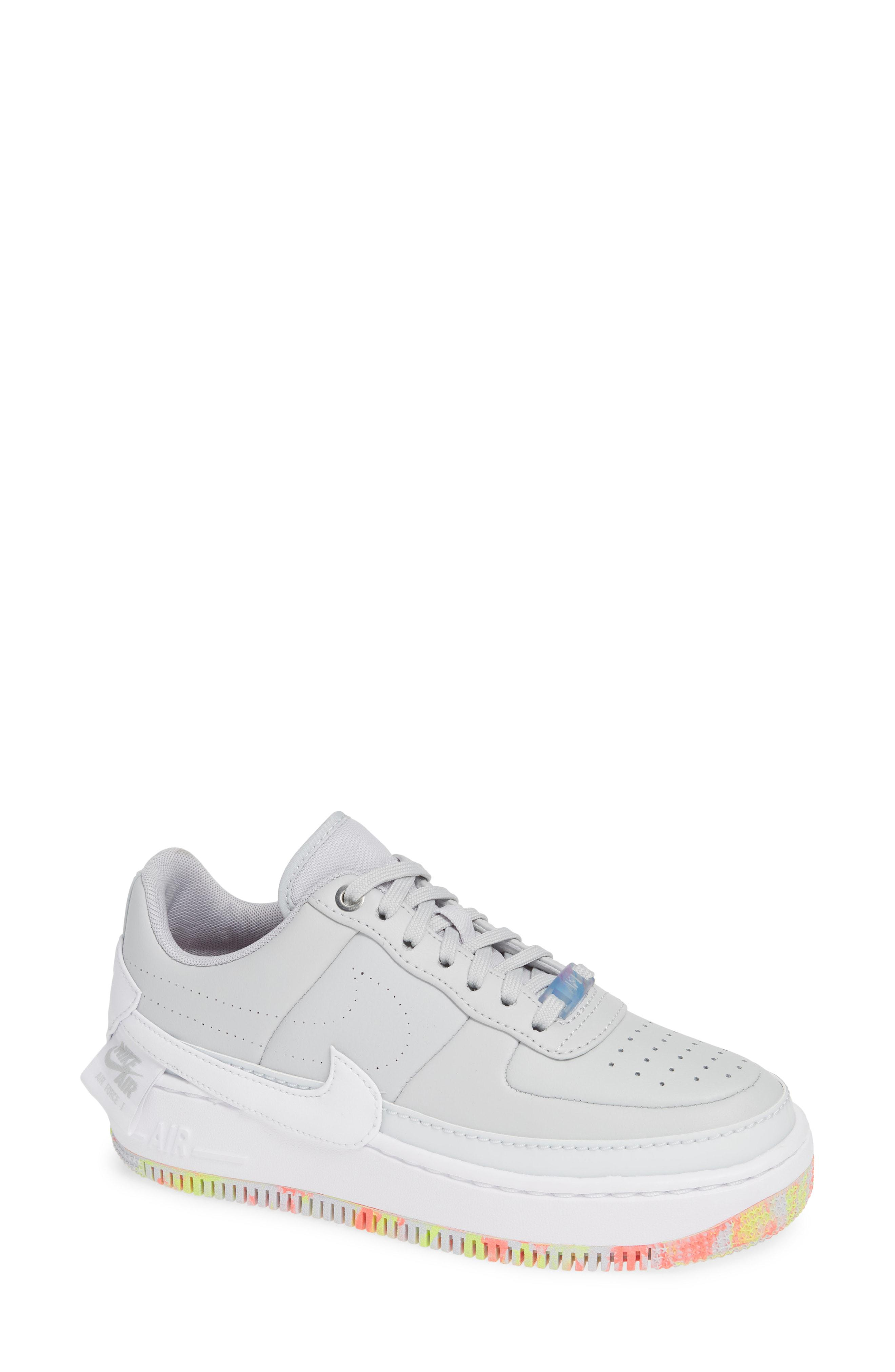 6a2b69513be Lyst - Nike Air Force 1 Jester Xx Print Sneaker in White