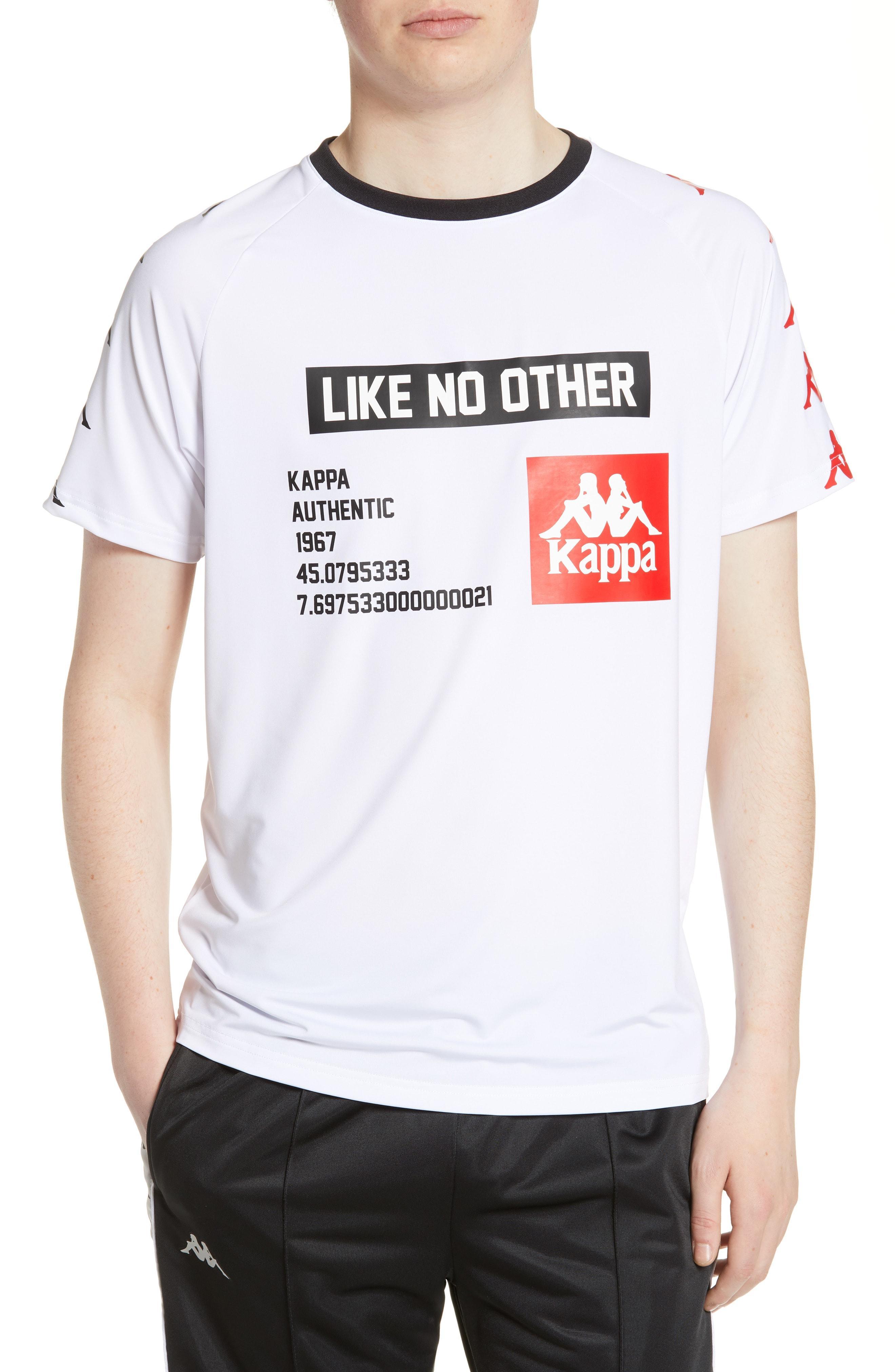 12787aa3d7 Lyst - Kappa Authentic Bastil T-shirt in White for Men