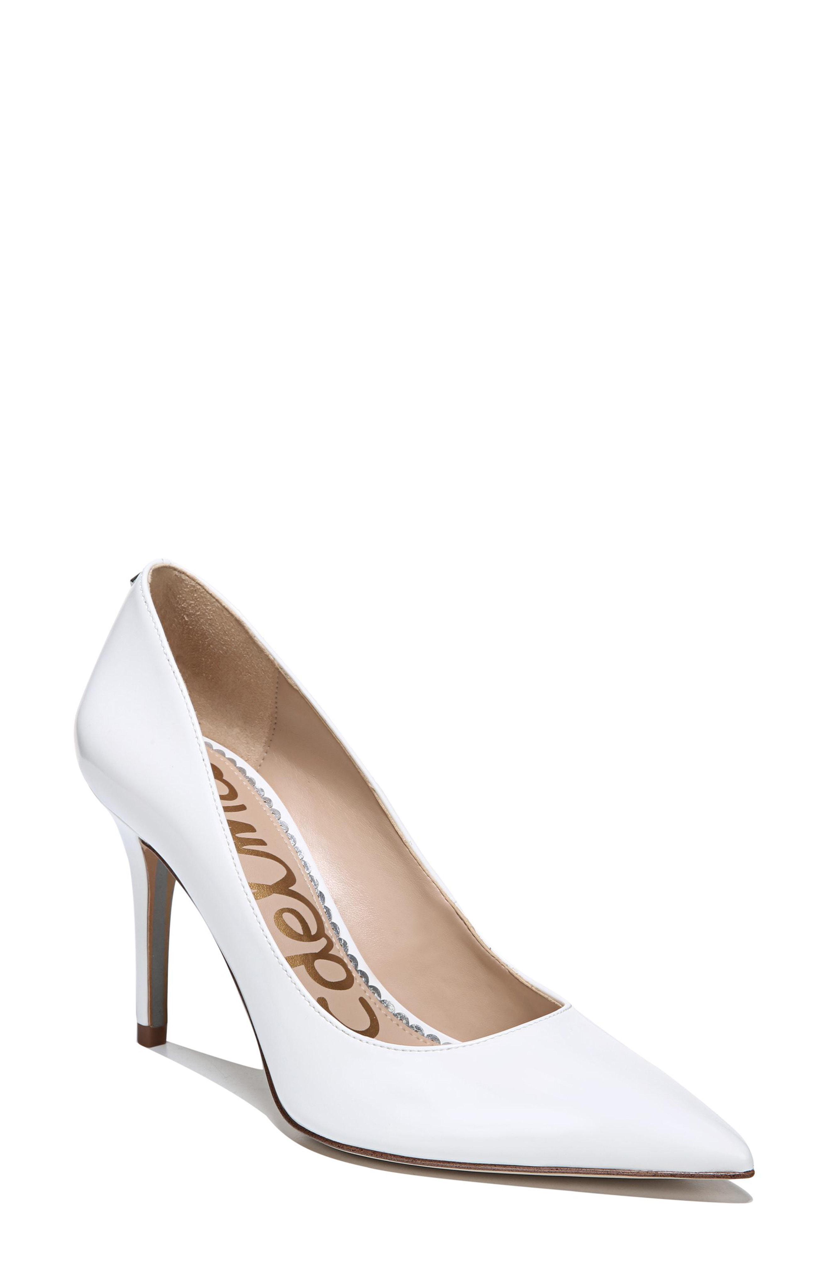 b4966d985d7a Lyst - Sam Edelman Hazel Pump Bright White in White - Save 62%
