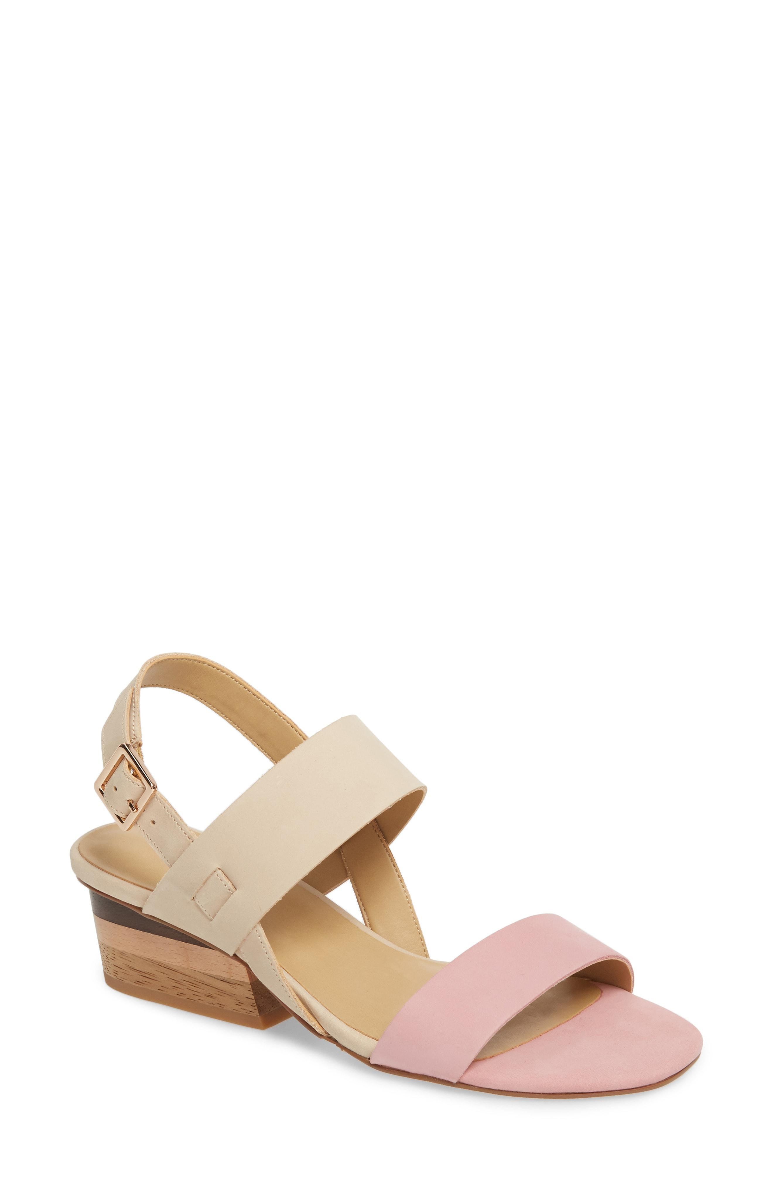 1296d5e913a2 Lyst - Vaneli Caryna Slingback Sandal in Pink