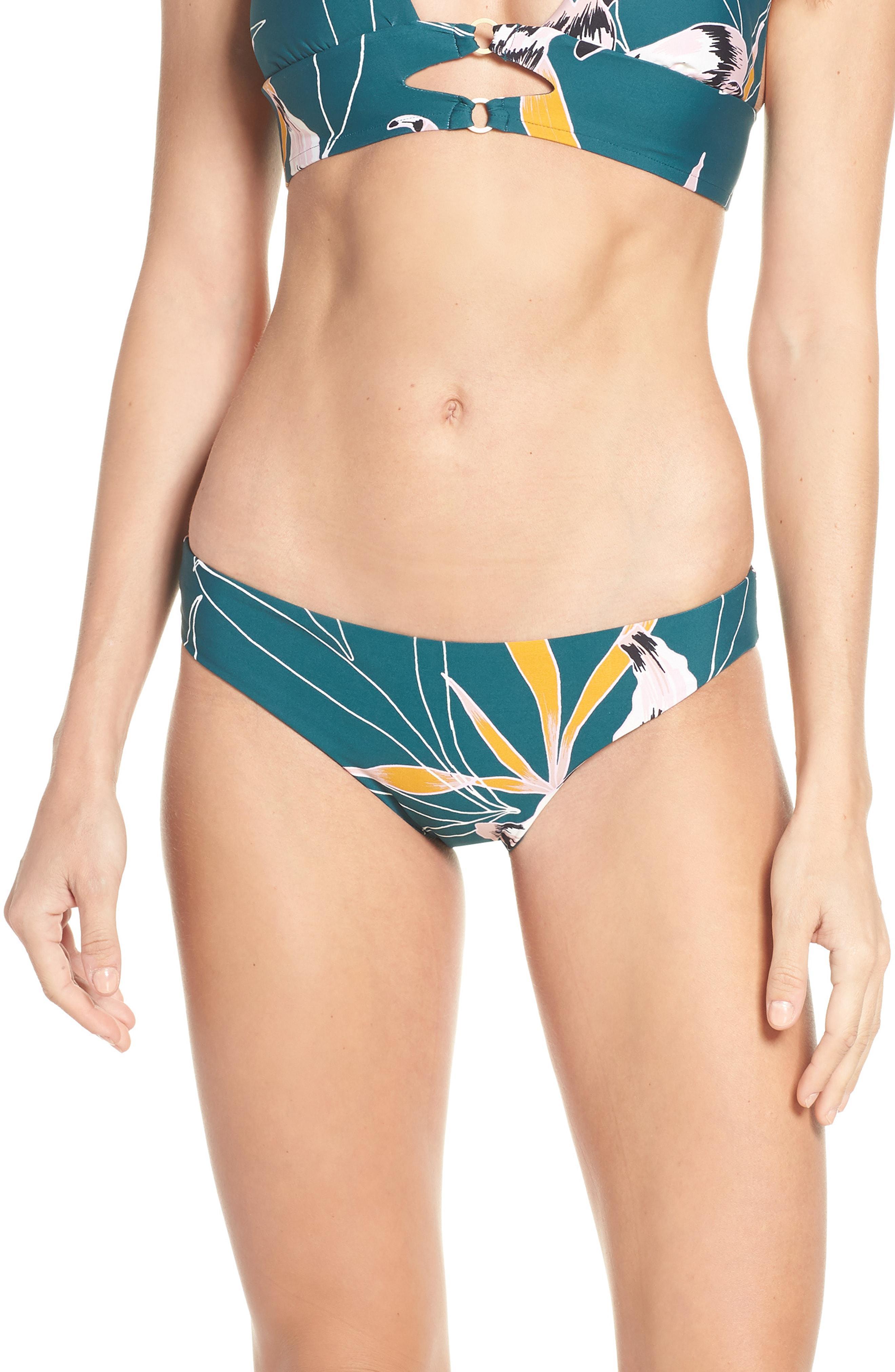 9003efe4bc Lyst - Seafolly Aralia Hipster Bikini Bottoms in Blue
