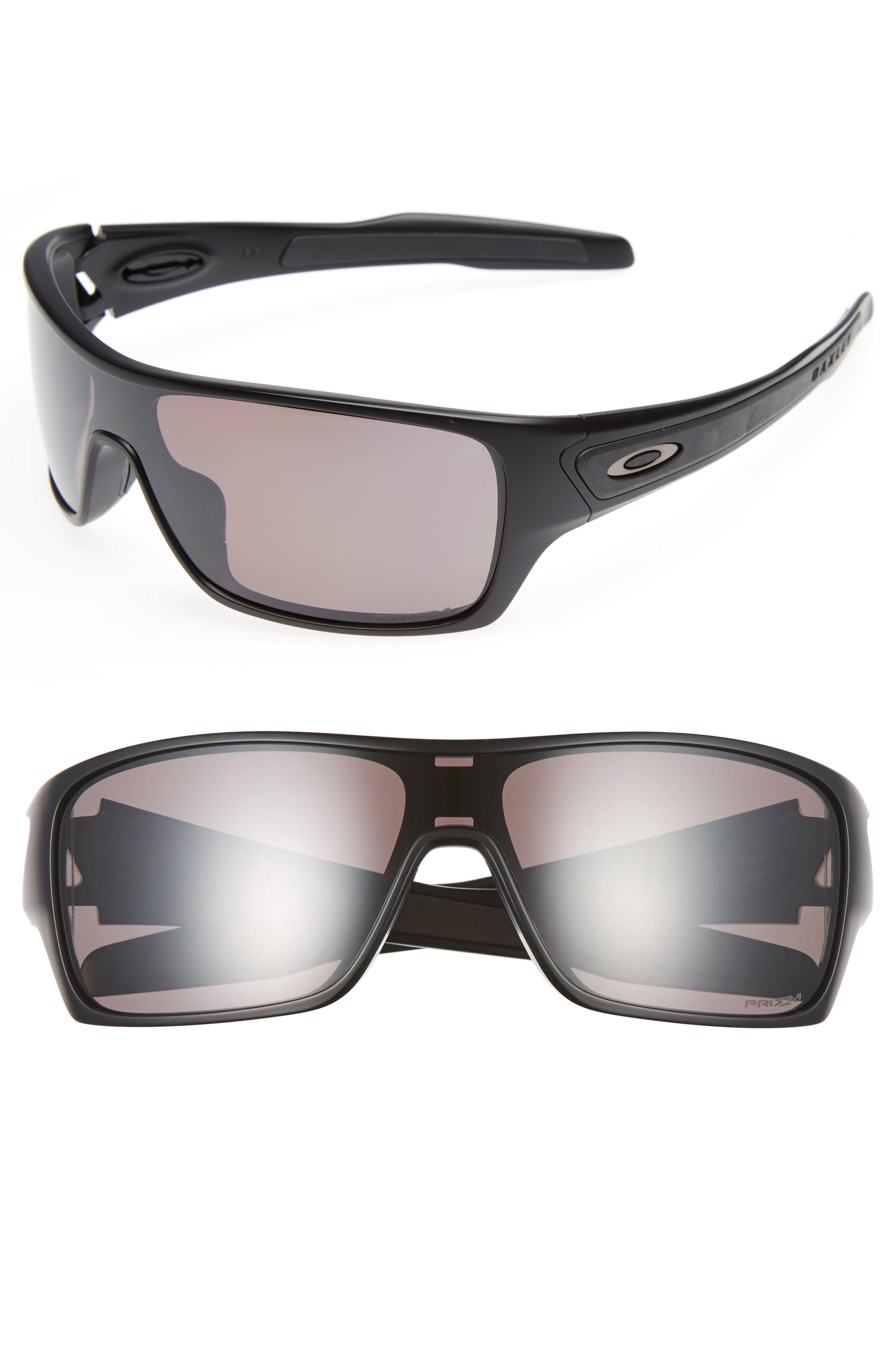 874f9e09479 Lyst - Oakley Turbine Rotor 68mm Polarized Sunglasses in Black for Men