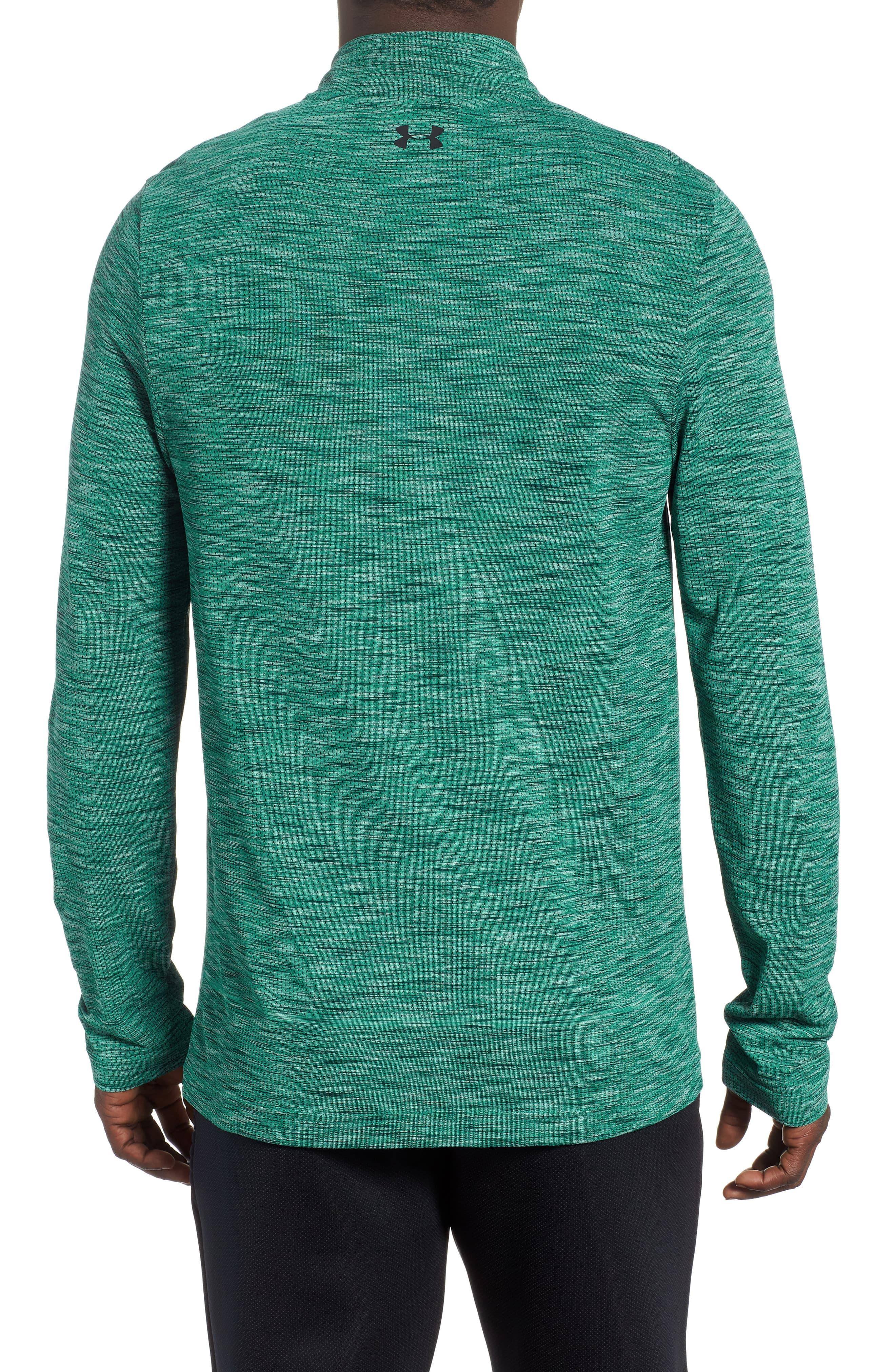32f9e53f Under Armour Siphon Regular Fit Half-zip Pullover in Green for Men ...