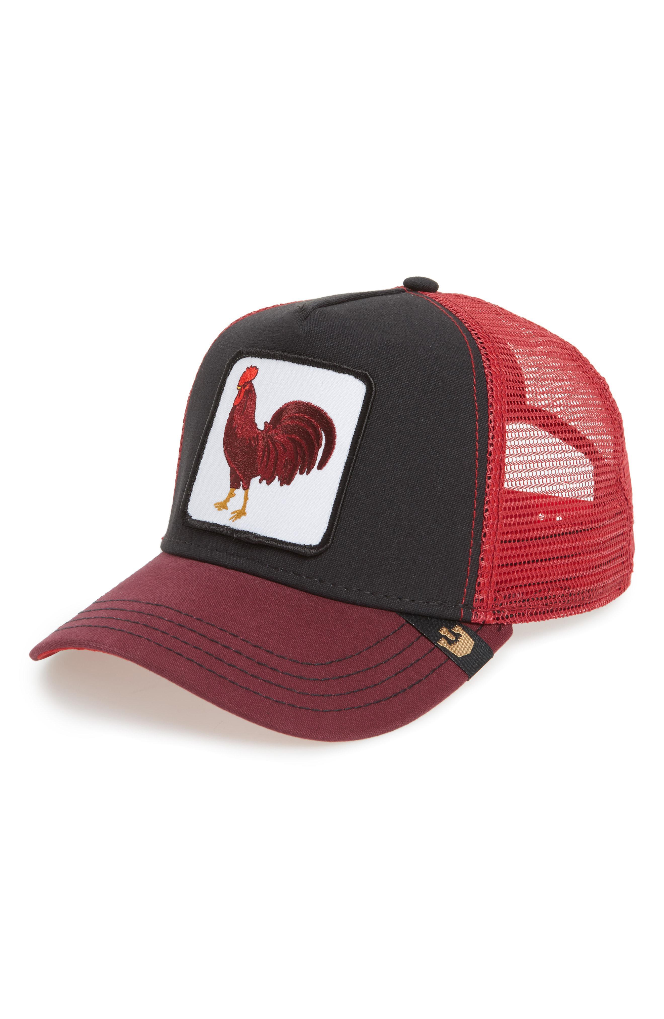 Goorin Bros Barnyard King Trucker Hat in Black for Men - Lyst 10d7f04ad6f2