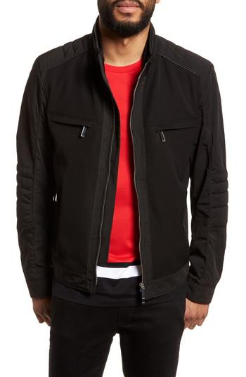 Boss Chead Mercedes Jacket In Black For Men Lyst