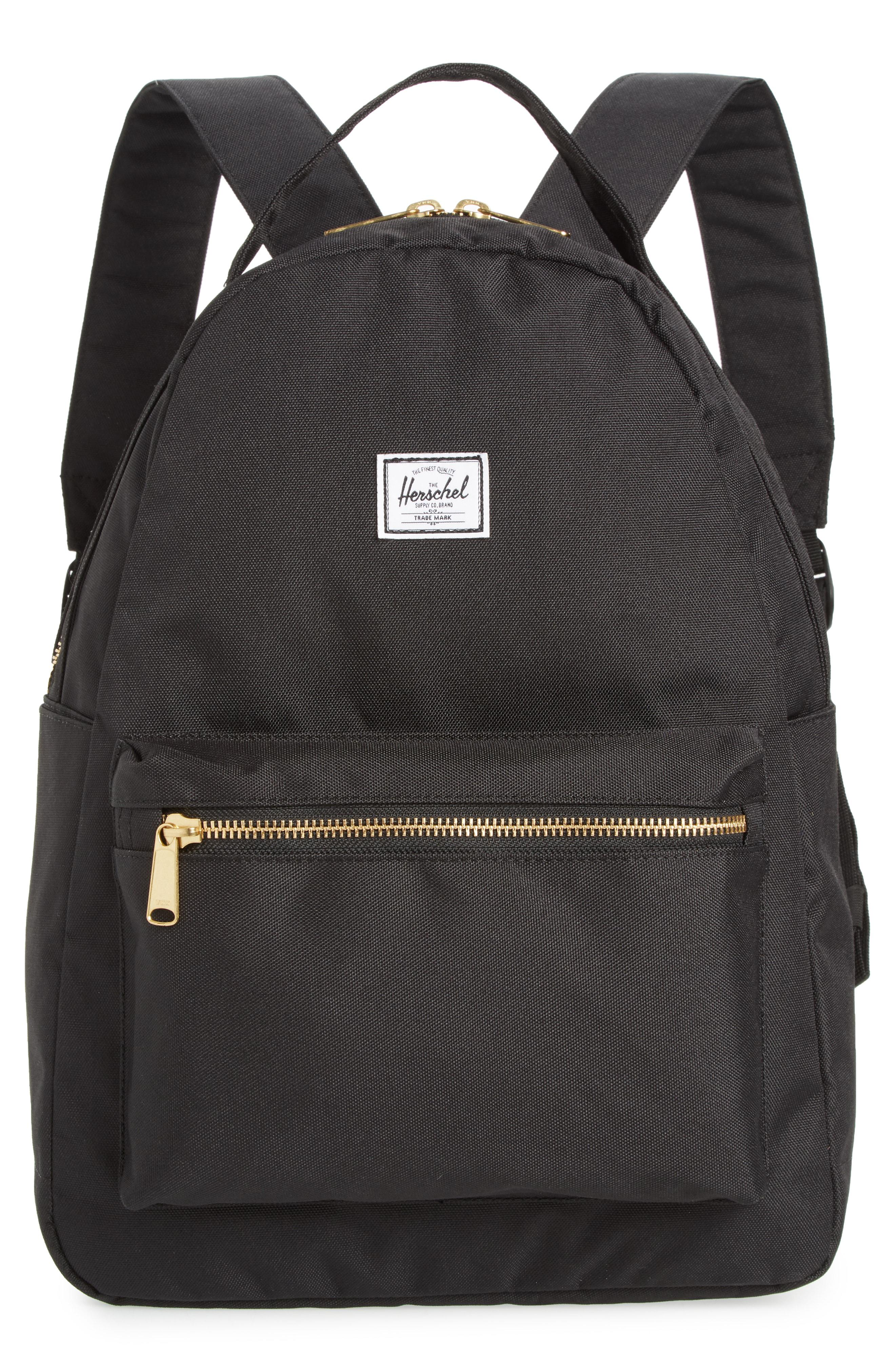 Lyst - Herschel Supply Co. Nova Mid Volume Backpack - in Black 1292e2efbe0b6