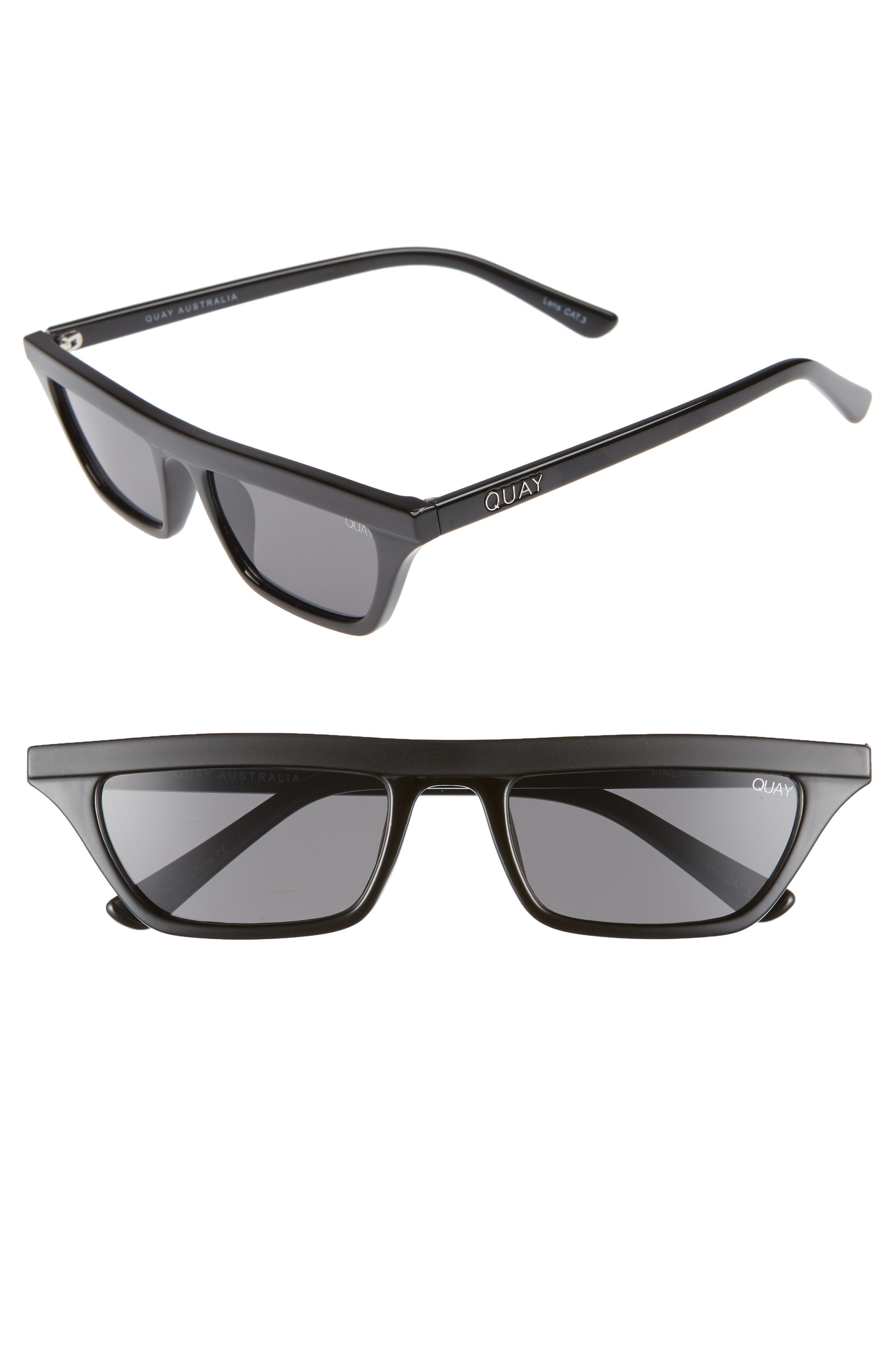 ed33b7ab984 Lyst - Quay Finesse 52mm Sunglasses - in Gray