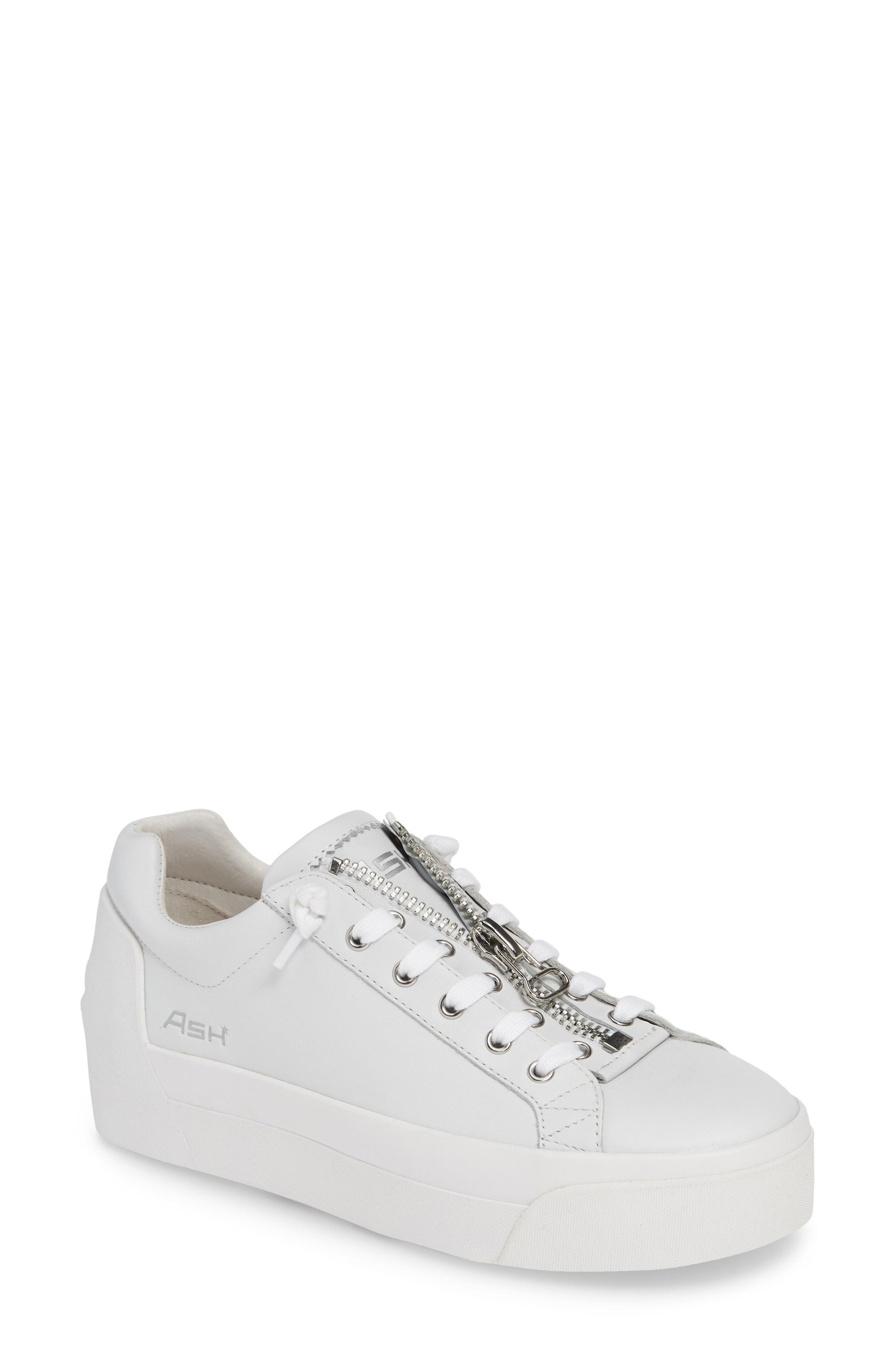 af826c02803 Ash - White Buzz Platform Sneaker - Lyst. View fullscreen