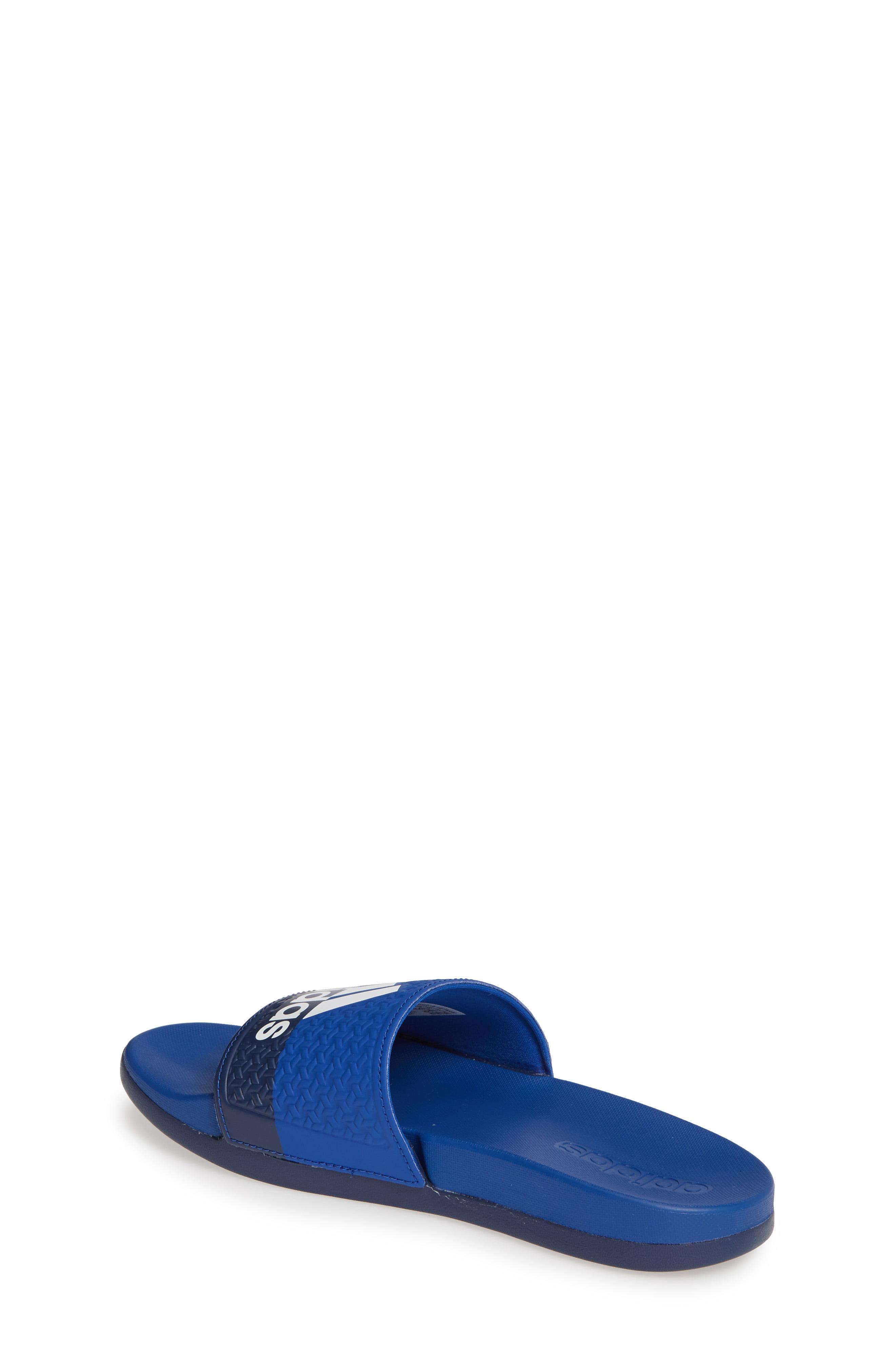 3b7c50050 Adidas - Blue Adilette Slide Sandal - Lyst. View fullscreen