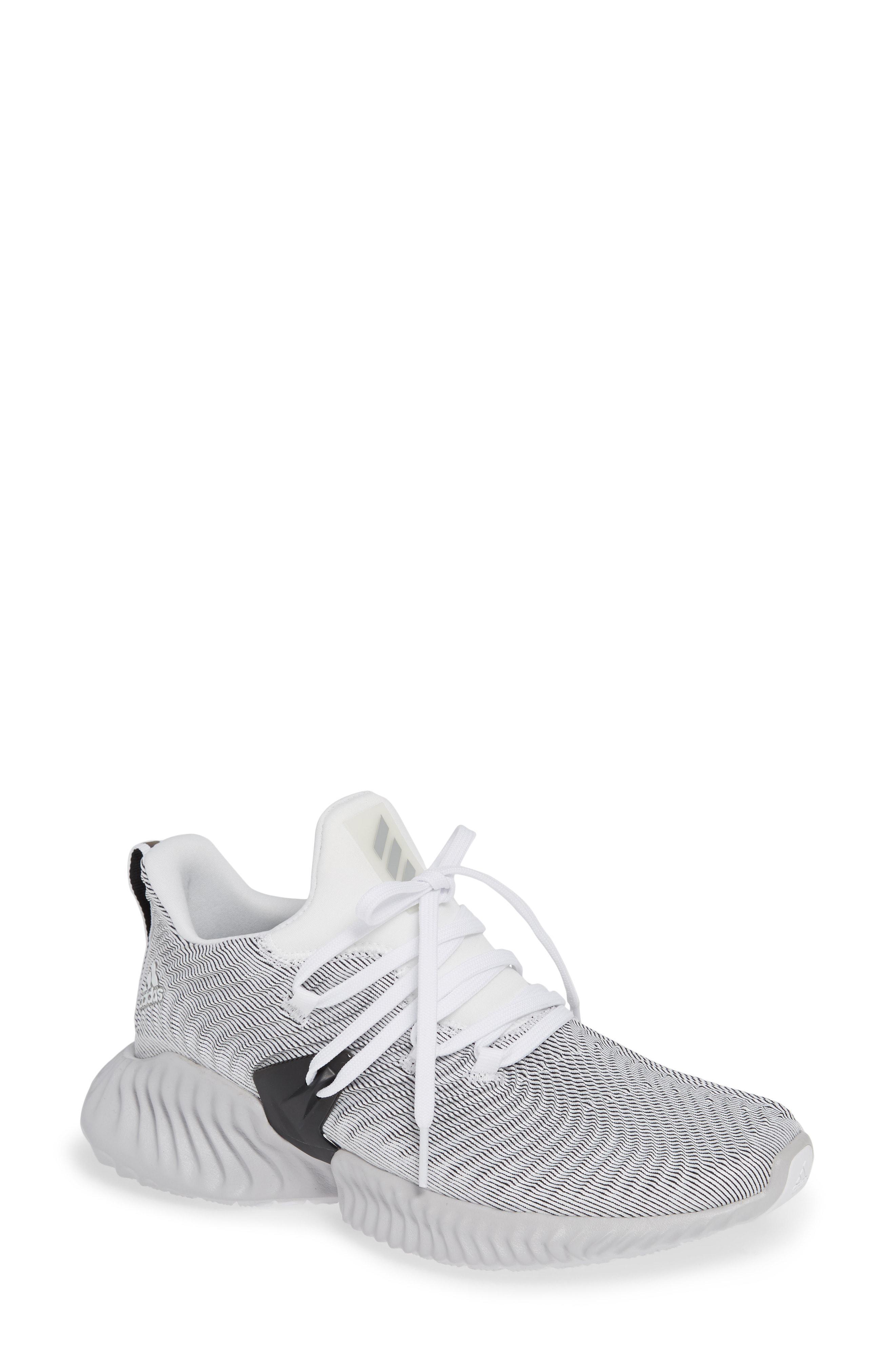 detailed look 425a9 91da6 adidas. Womens White Alphabounce Instinct Sneaker