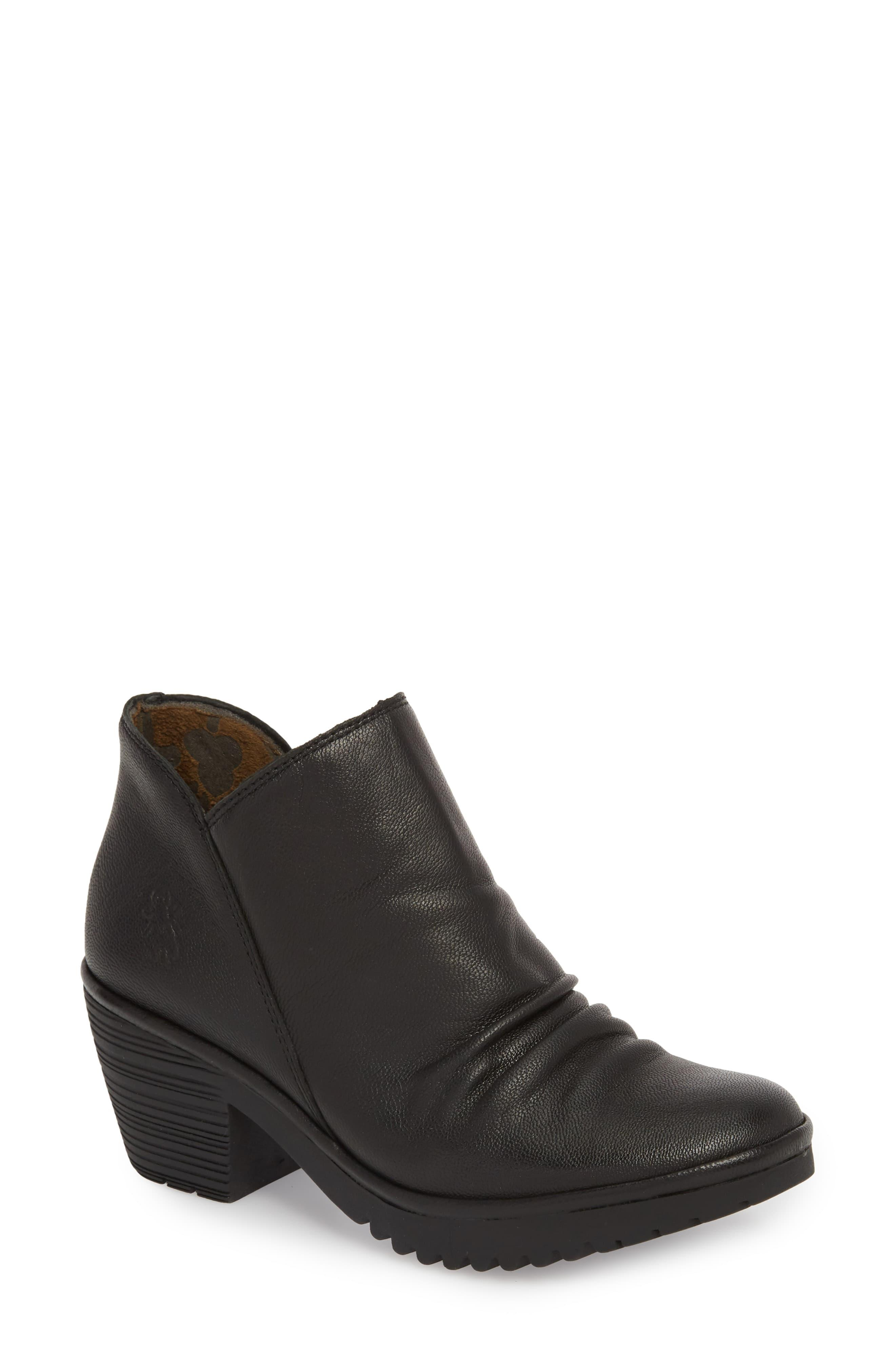 65cea734f38 Fly London Wezo Bootie in Black - Save 35% - Lyst