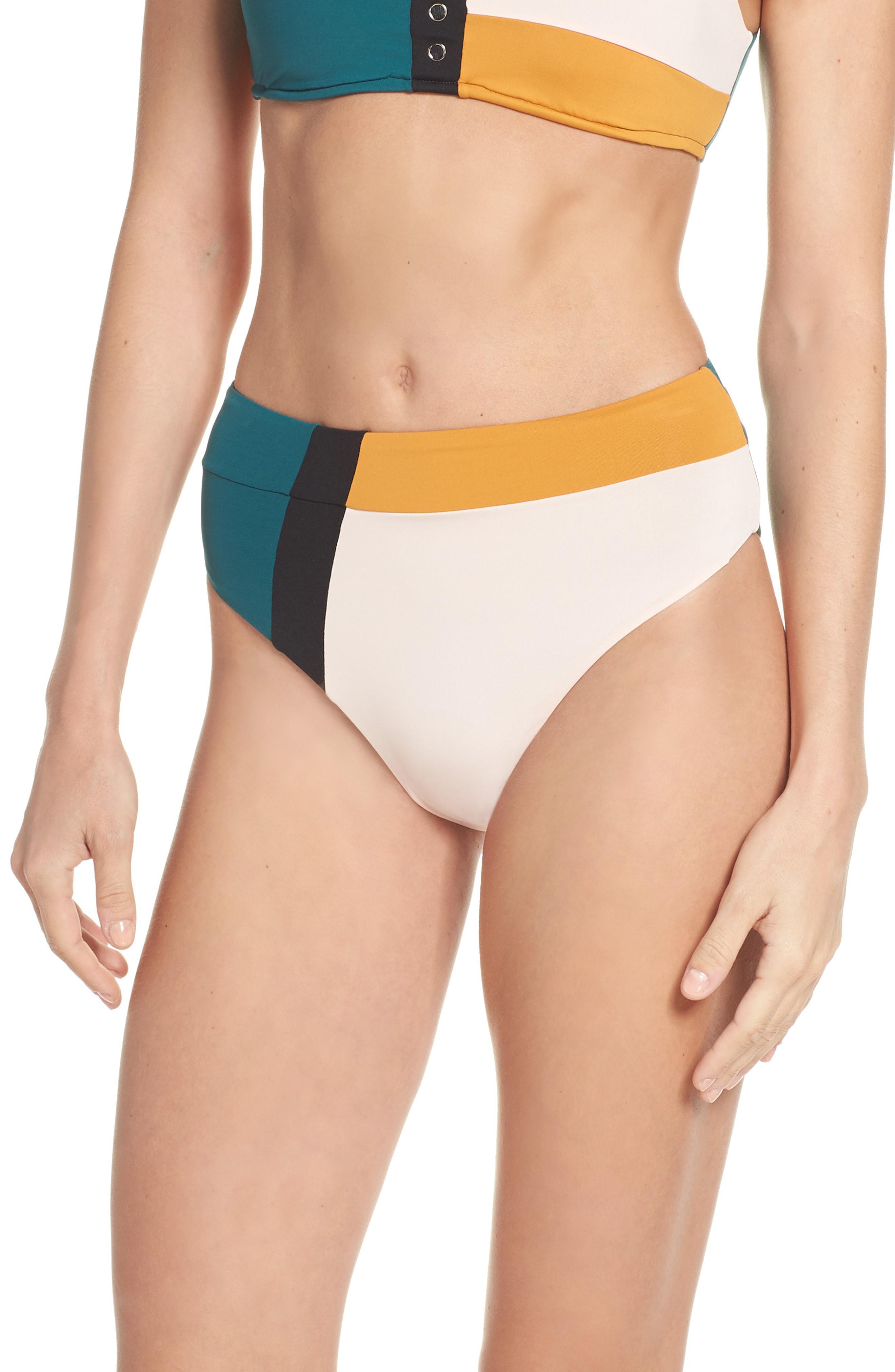 d7160079dd0bc Seafolly. Women's Aralia High Waist Bikini Bottoms