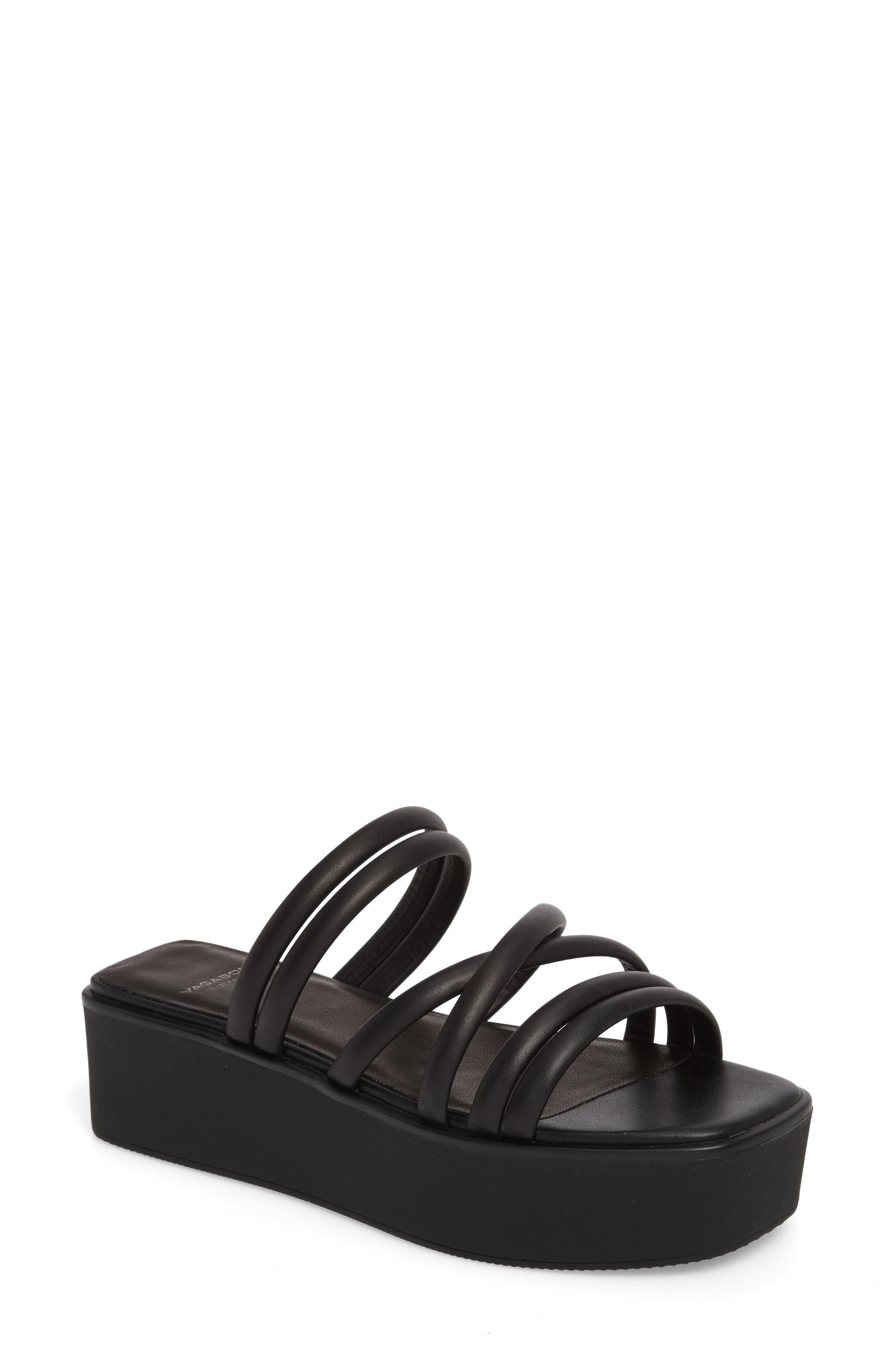b223a5a1482 Vagabond Bonnie Platform Sandal in Black - Lyst