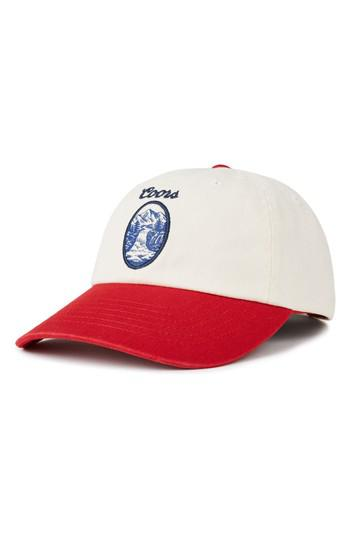 9e7510c7db7 Lyst - Brixton Coors Filtered Ballcap in Red for Men