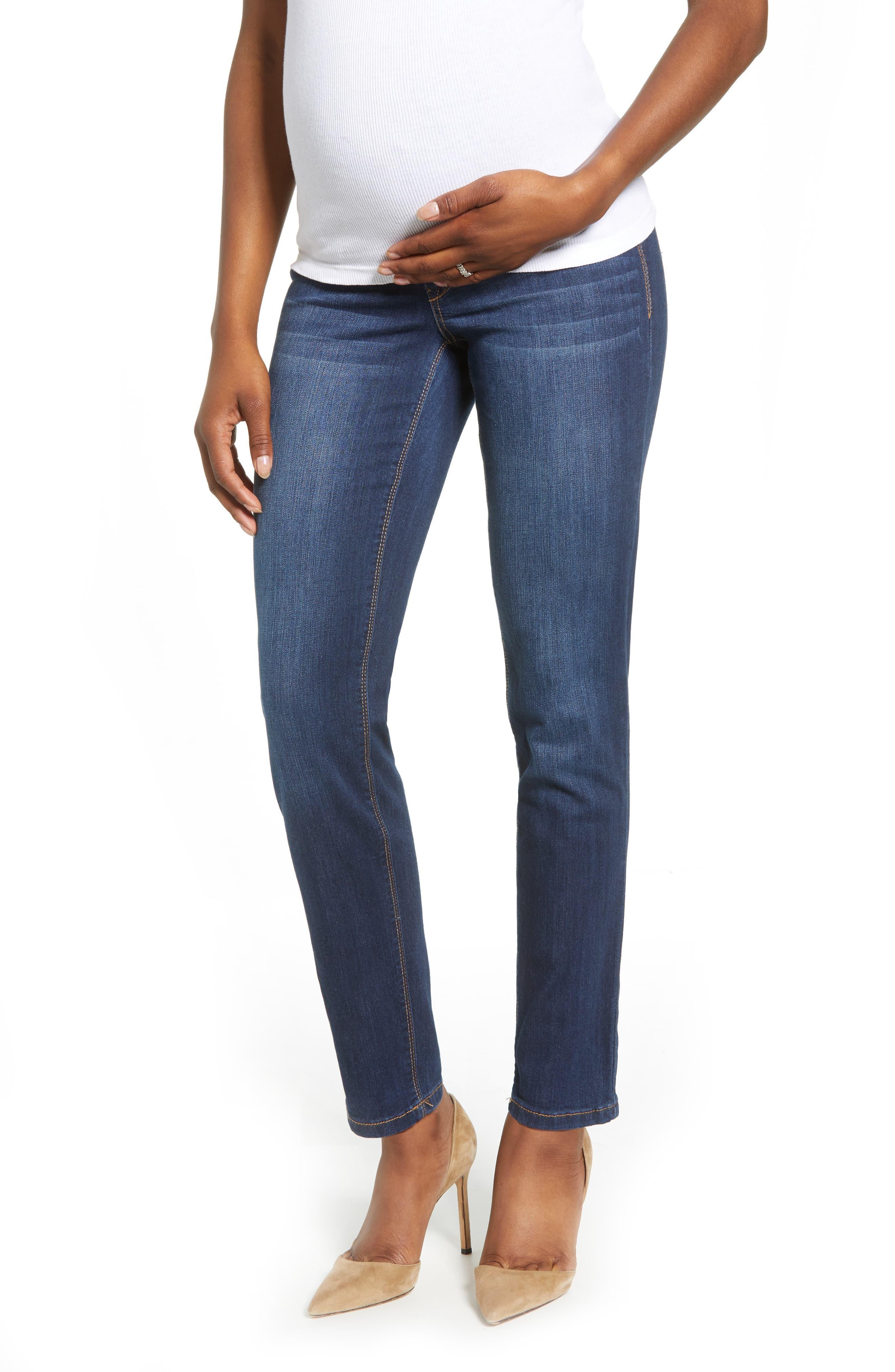 6496799aedea6 1822 Denim - Blue Straight Leg Maternity Jeans - Lyst. View fullscreen