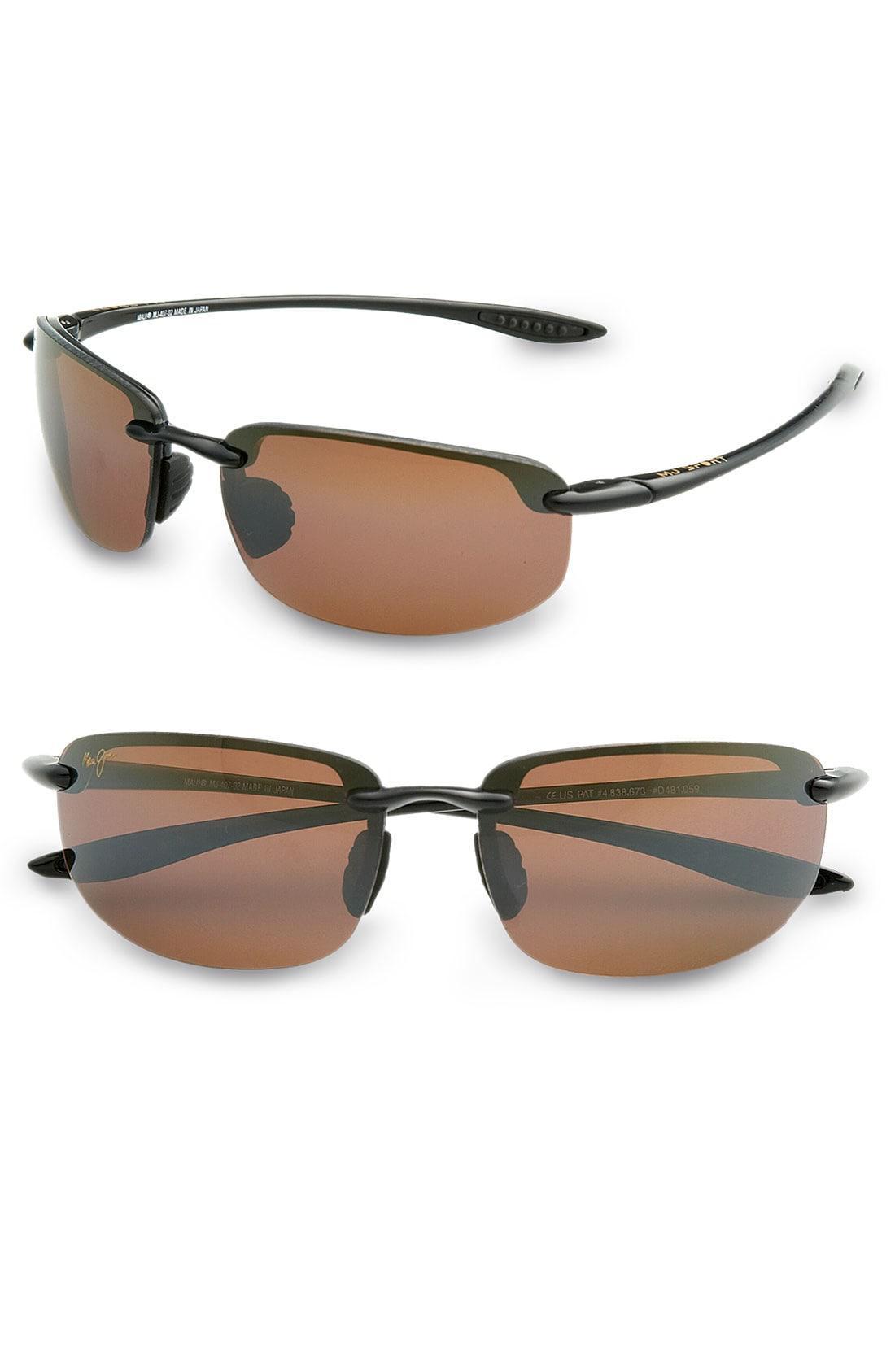 7efa8c3c89e Lyst - Maui Jim 'ho'okipa - Polarizedplus2' 63mm Sunglasses in Black ...