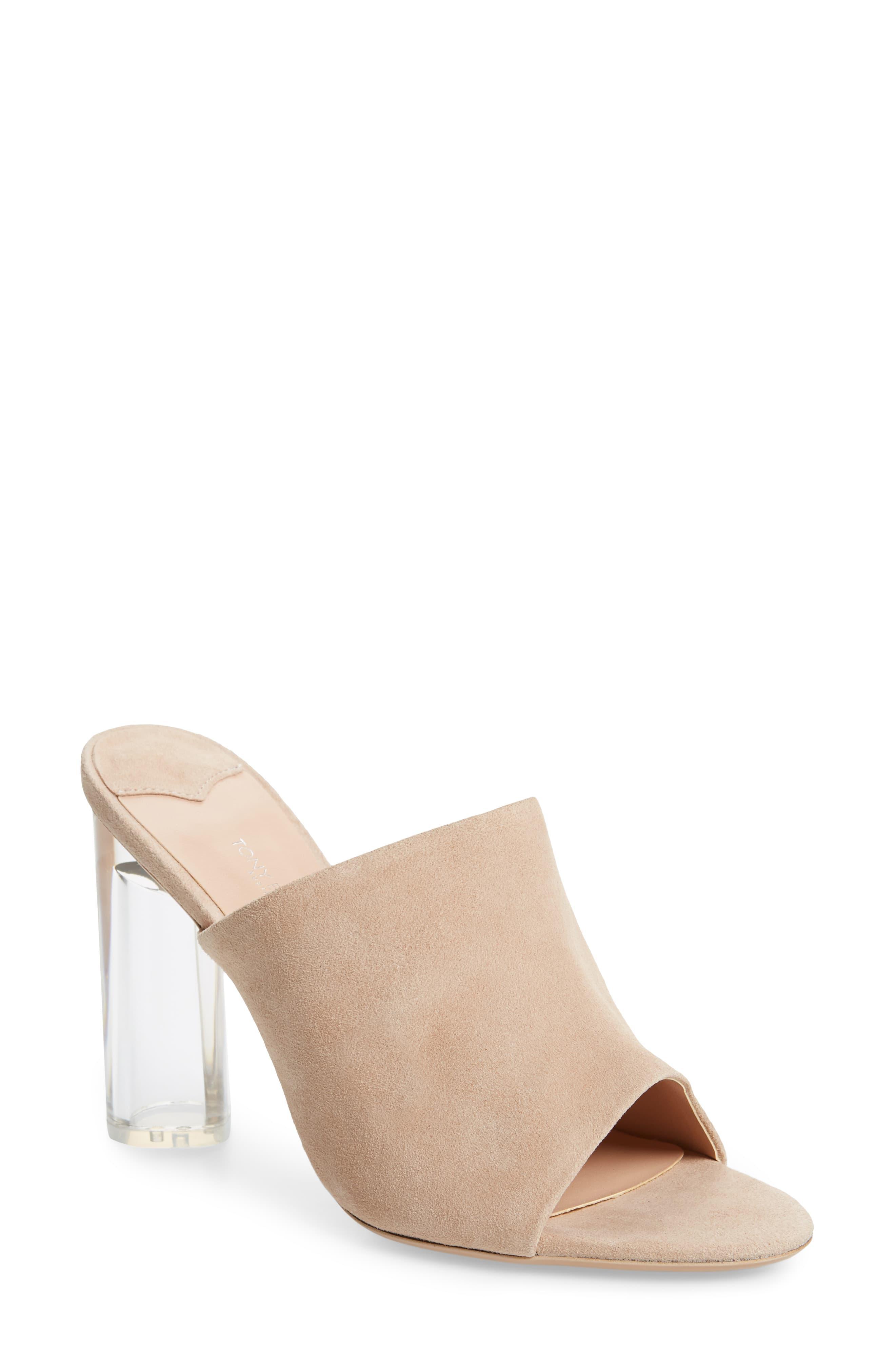 84a5bfd74c Tony Bianco. Women's Takoda Clear Heel Slide Sandal